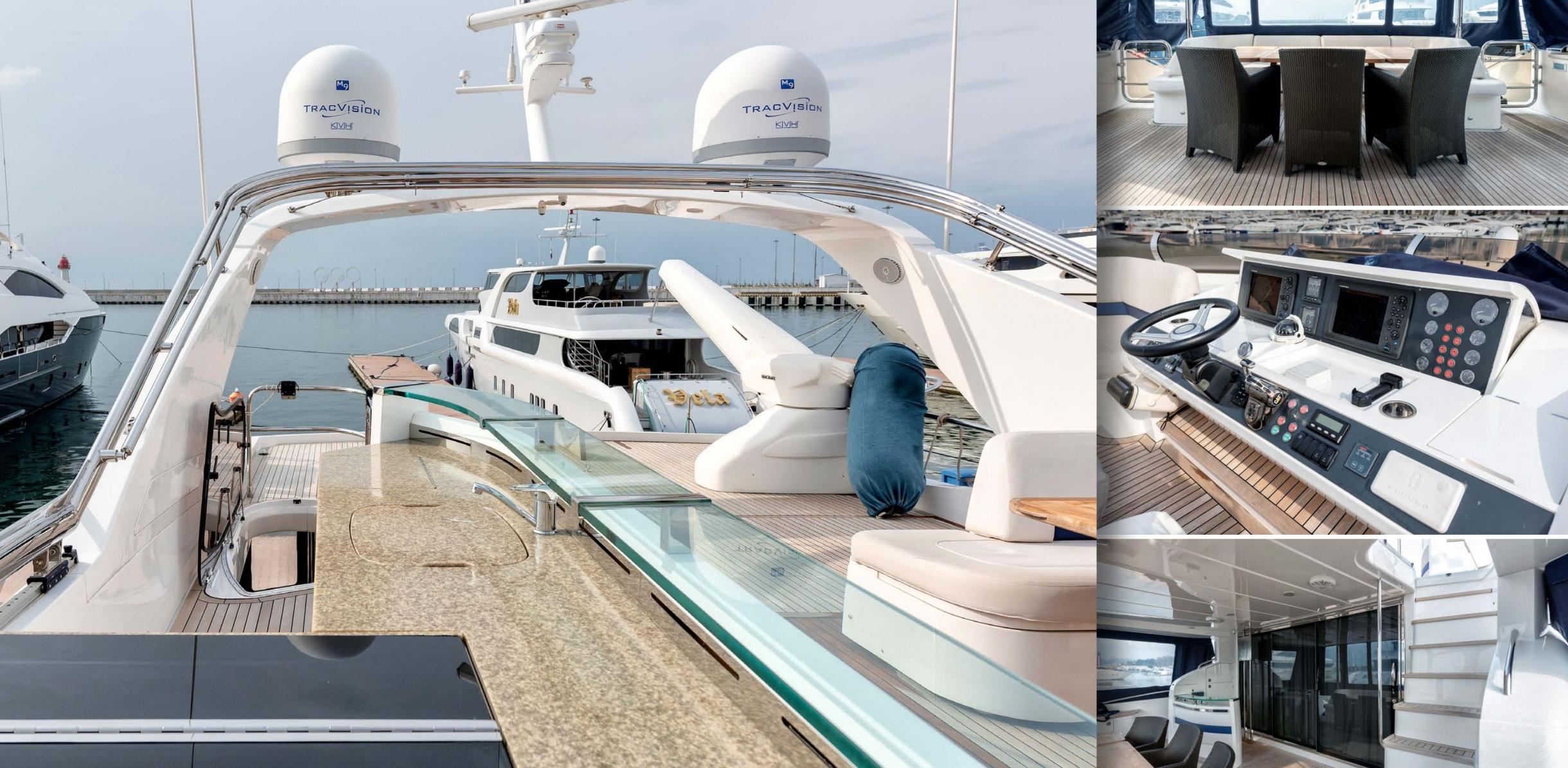 Яхта Princess 85 | Экстрьер 5