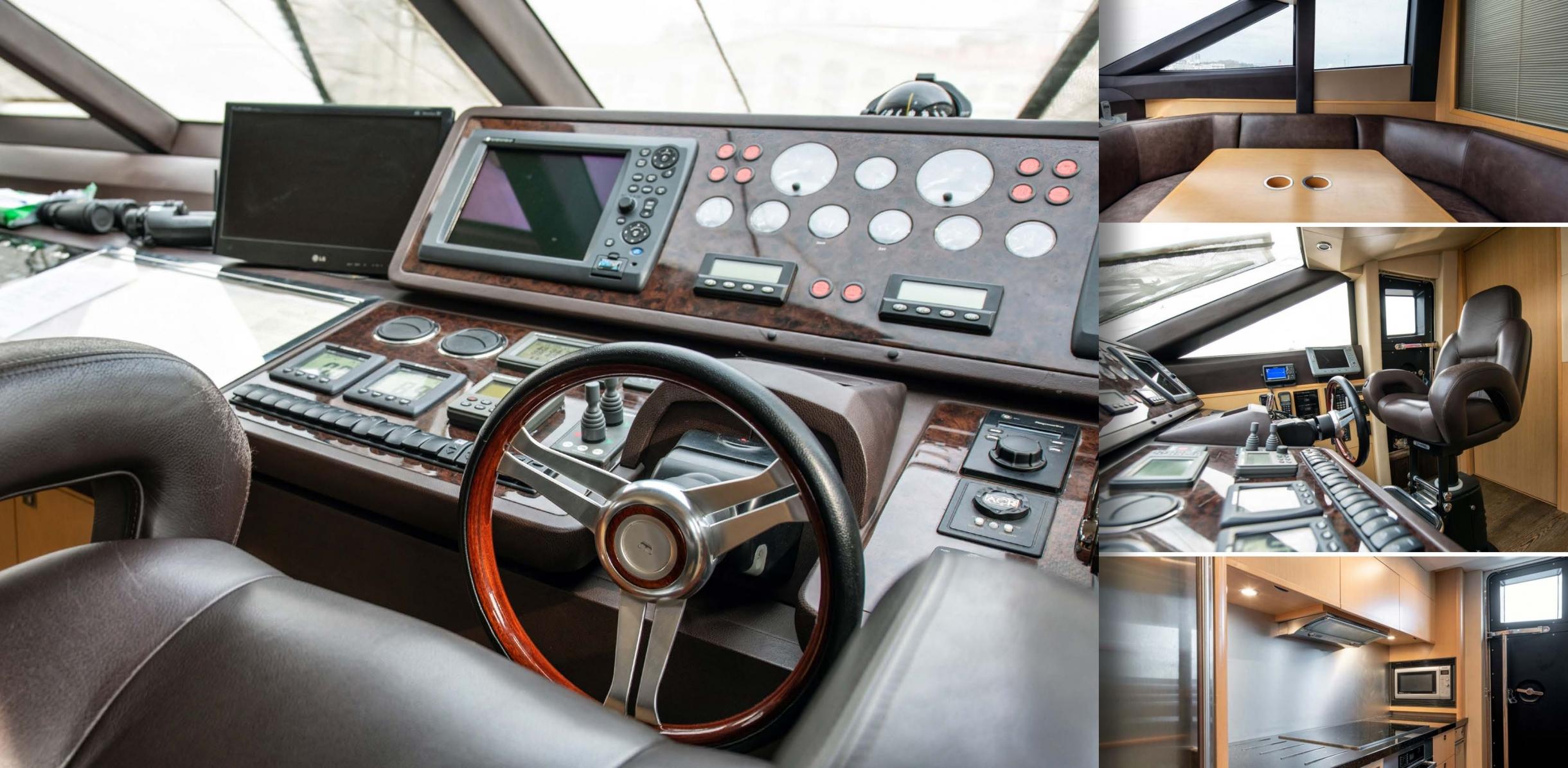 Яхта Princess 85 | Интерьер 1