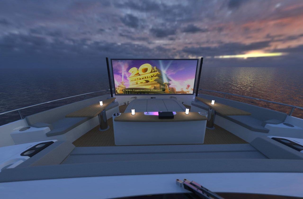 Sunseeker 87 Yacht | Интерьер 1