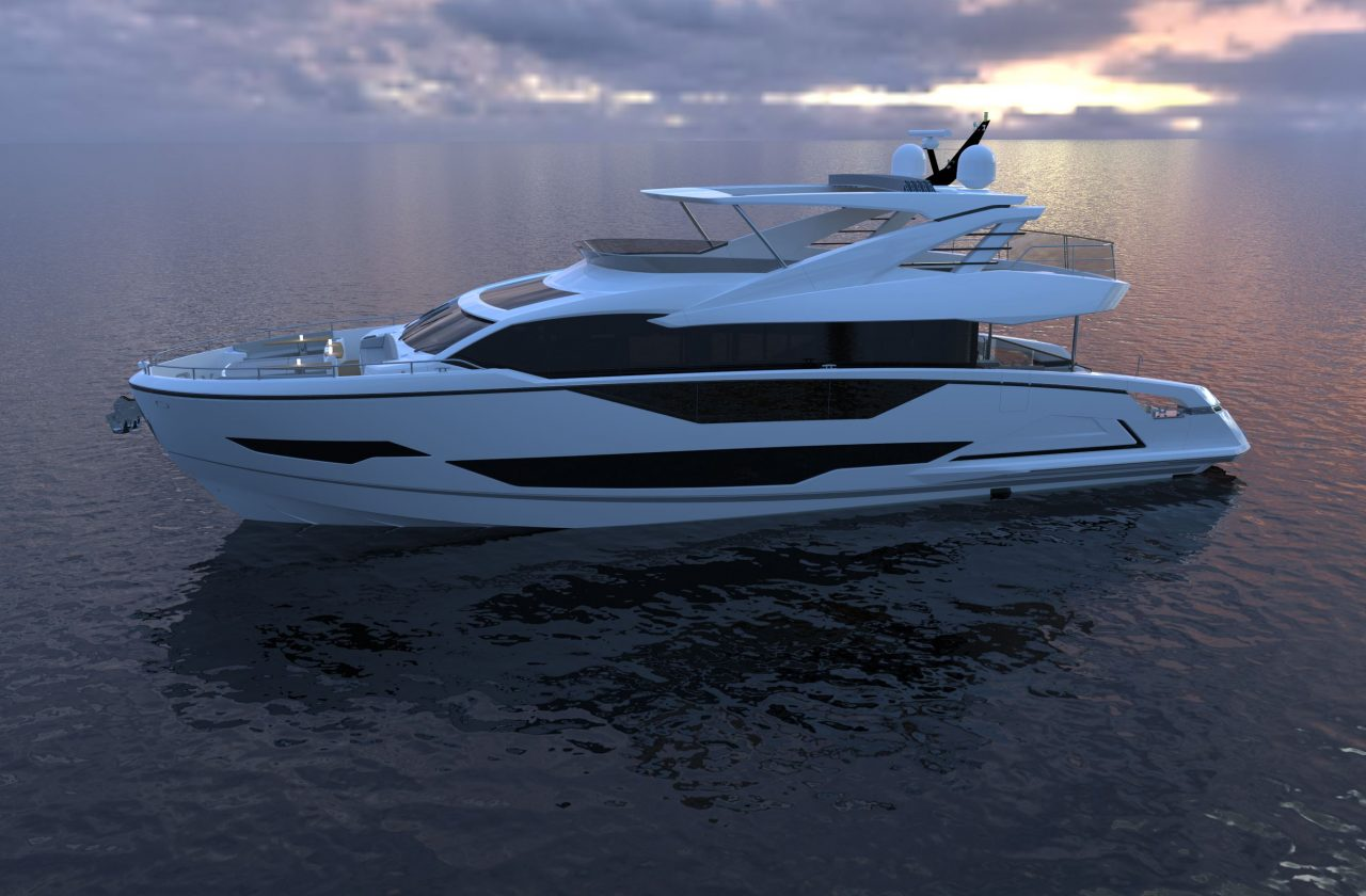 Sunseeker 87 Yacht | Экстрьер 8
