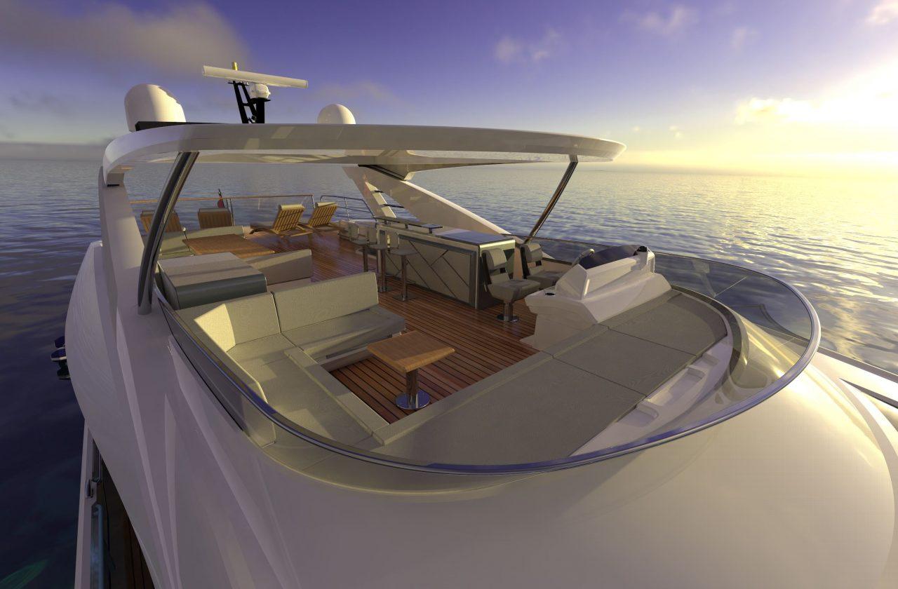 Sunseeker 87 Yacht | Экстрьер 5