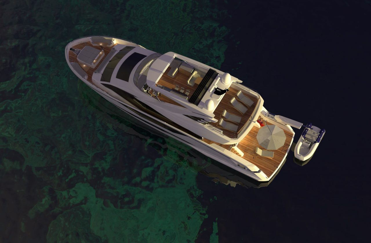 Sunseeker 87 Yacht | Экстрьер 6