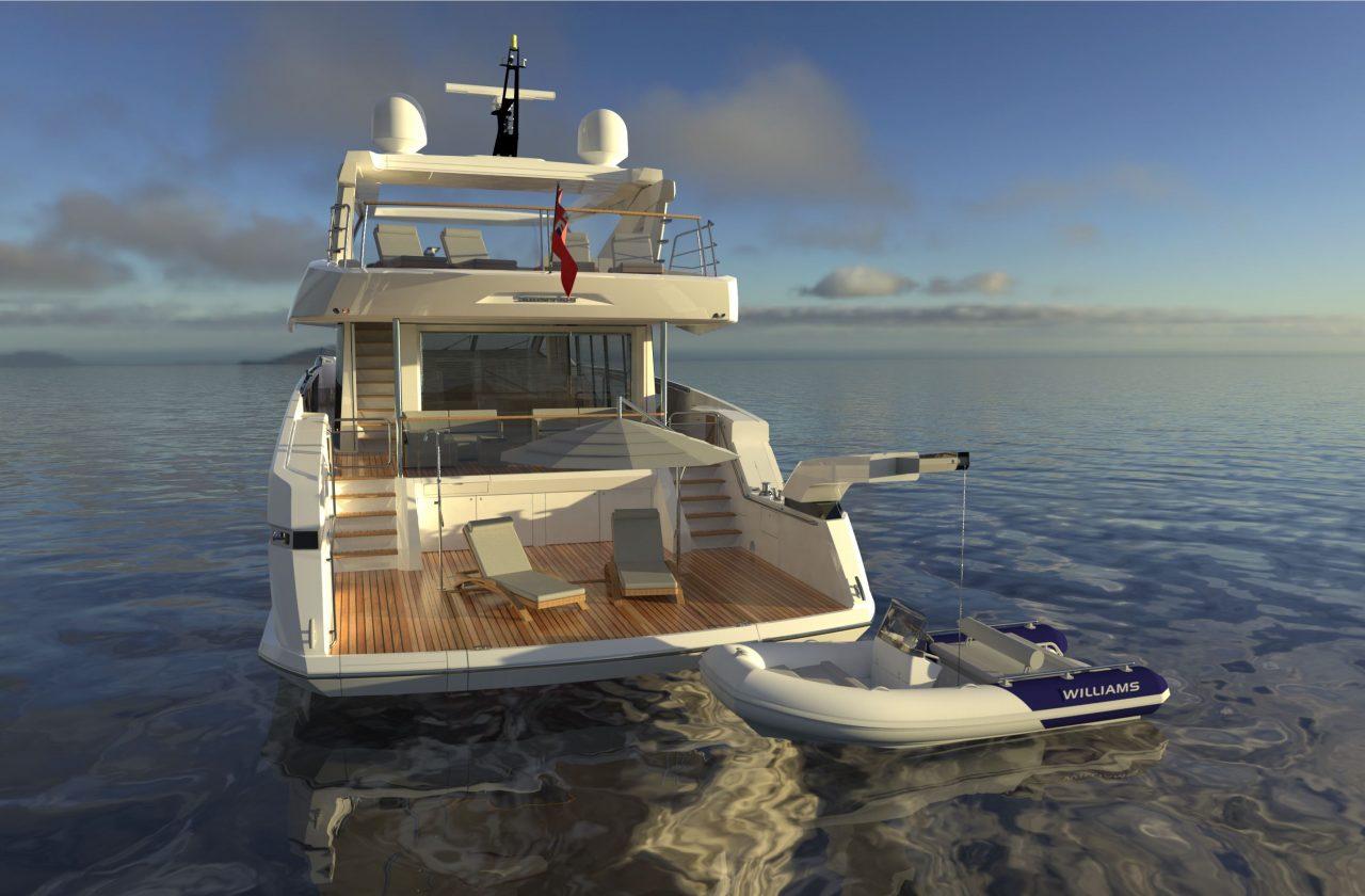 Sunseeker 87 Yacht | Экстрьер 7