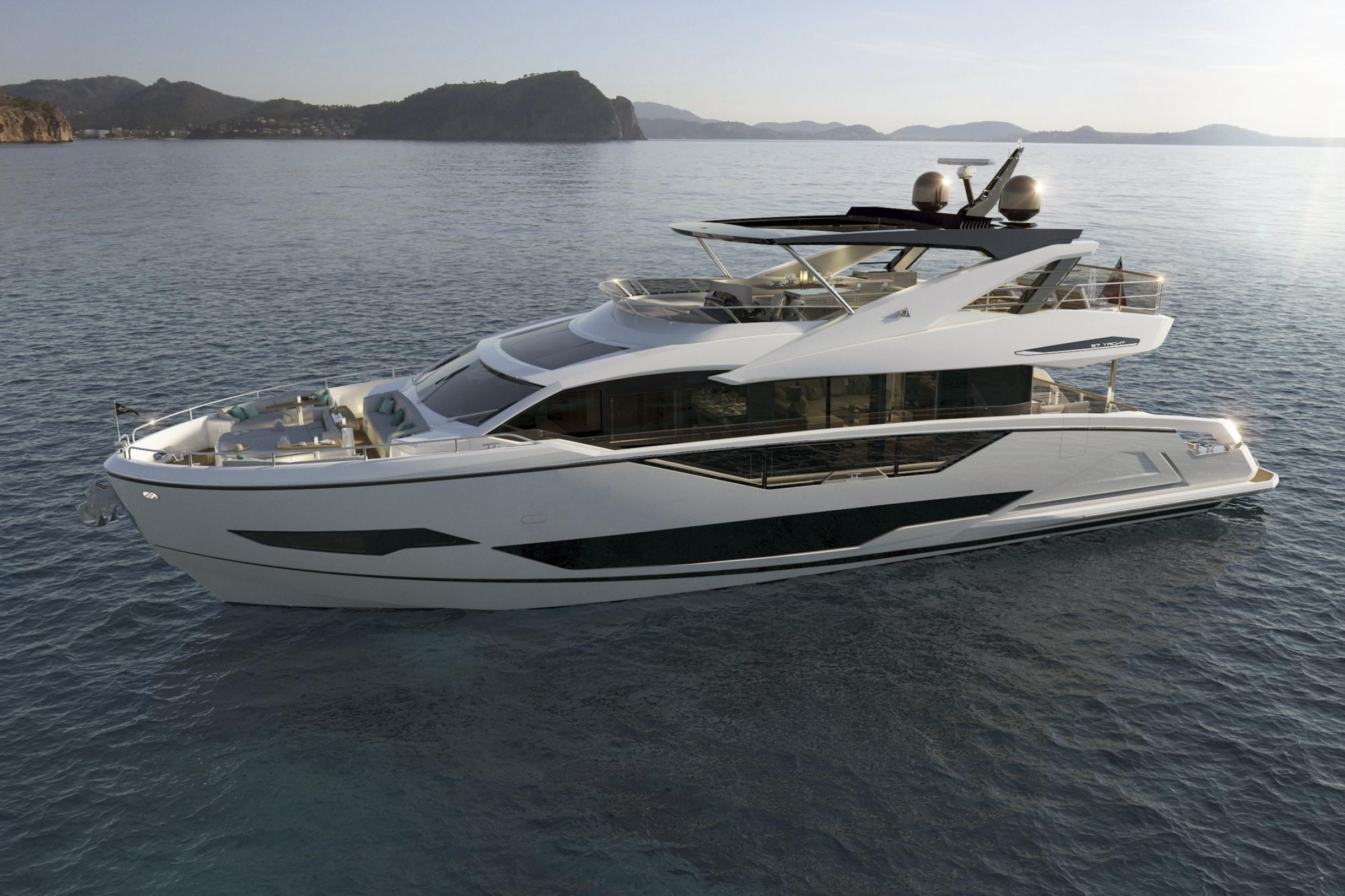Sunseeker 87 Yacht | Экстрьер 1
