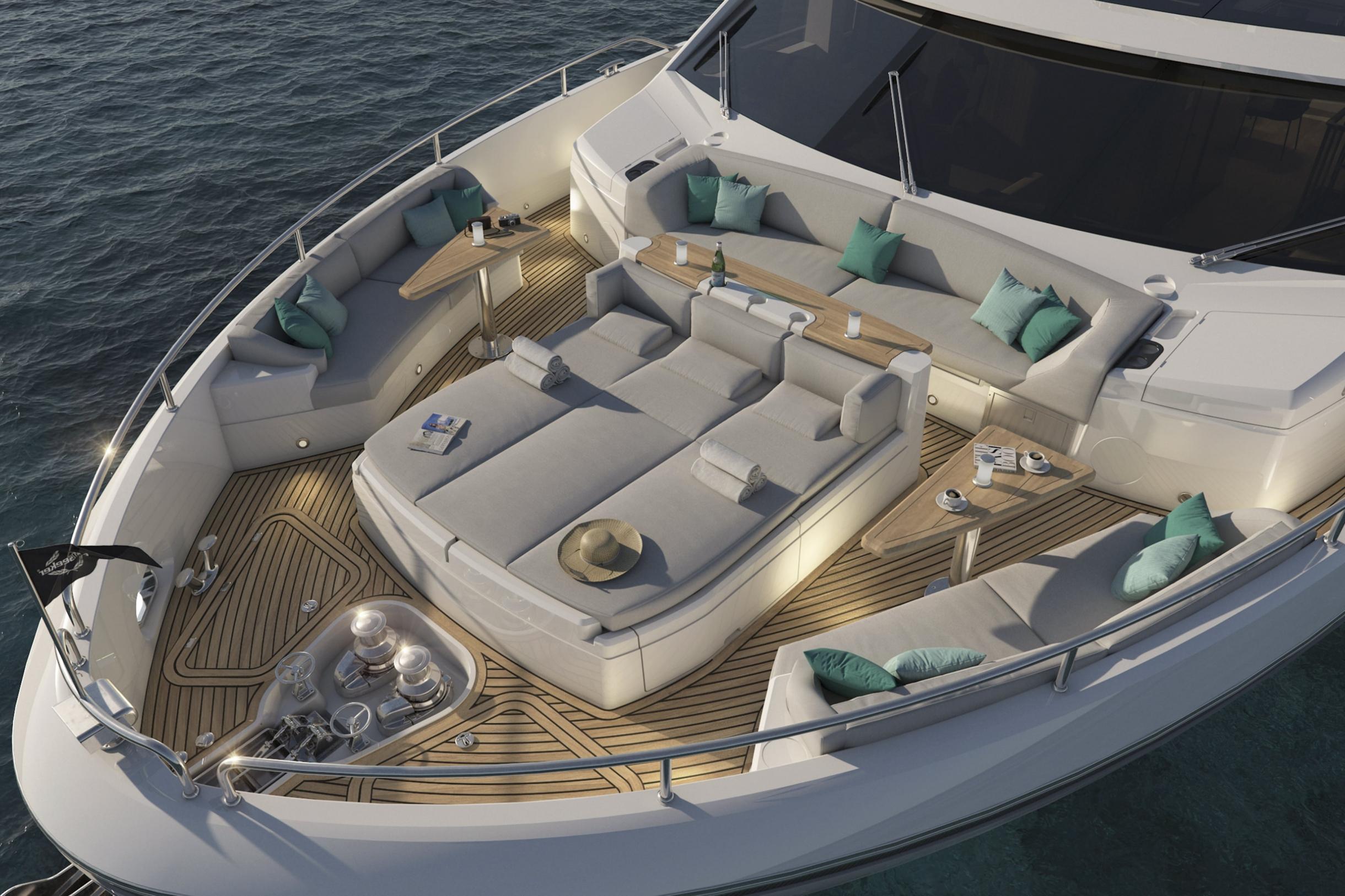 Sunseeker 87 Yacht | Экстрьер 4