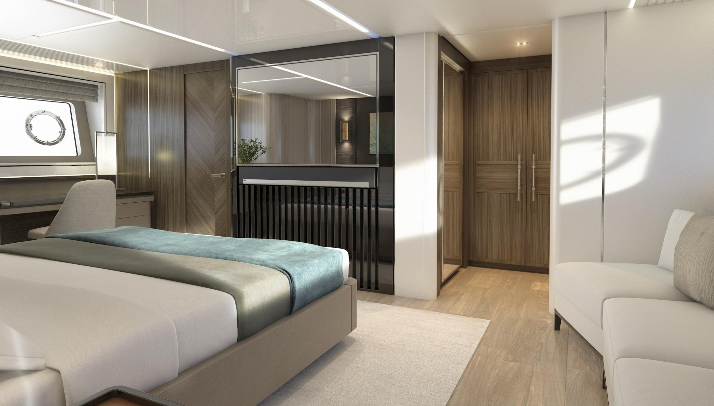Sunseeker 87 Yacht | Интерьер 9