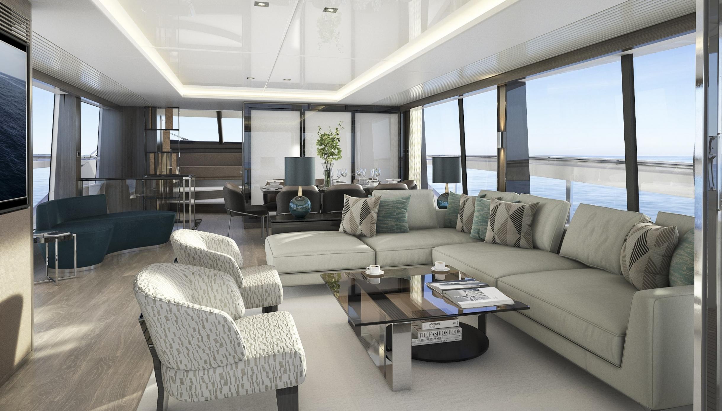 87 Yacht | Интерьер 8