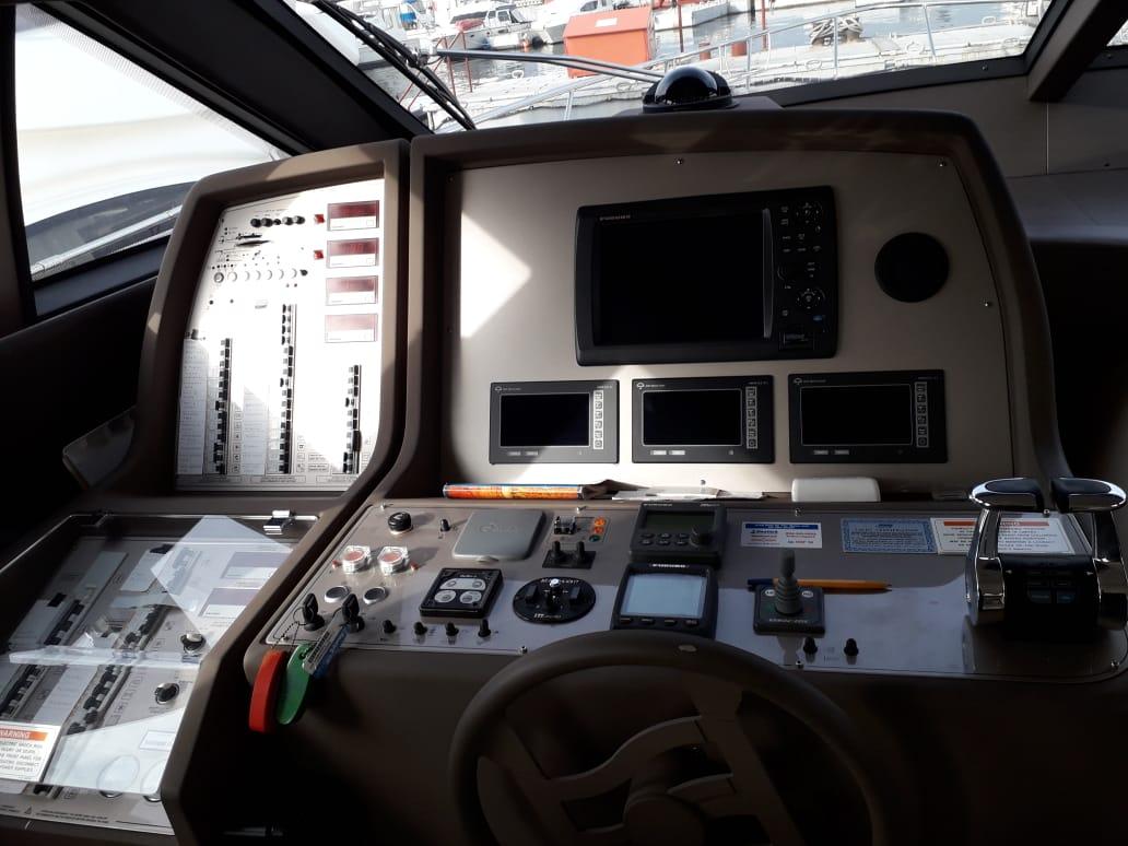 Ferretti 550 | Интерьер 6