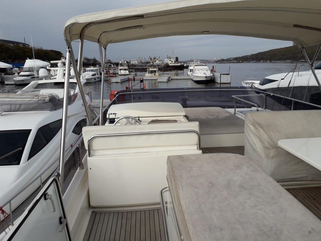 Яхта Ferretti 550 | Экстрьер 2