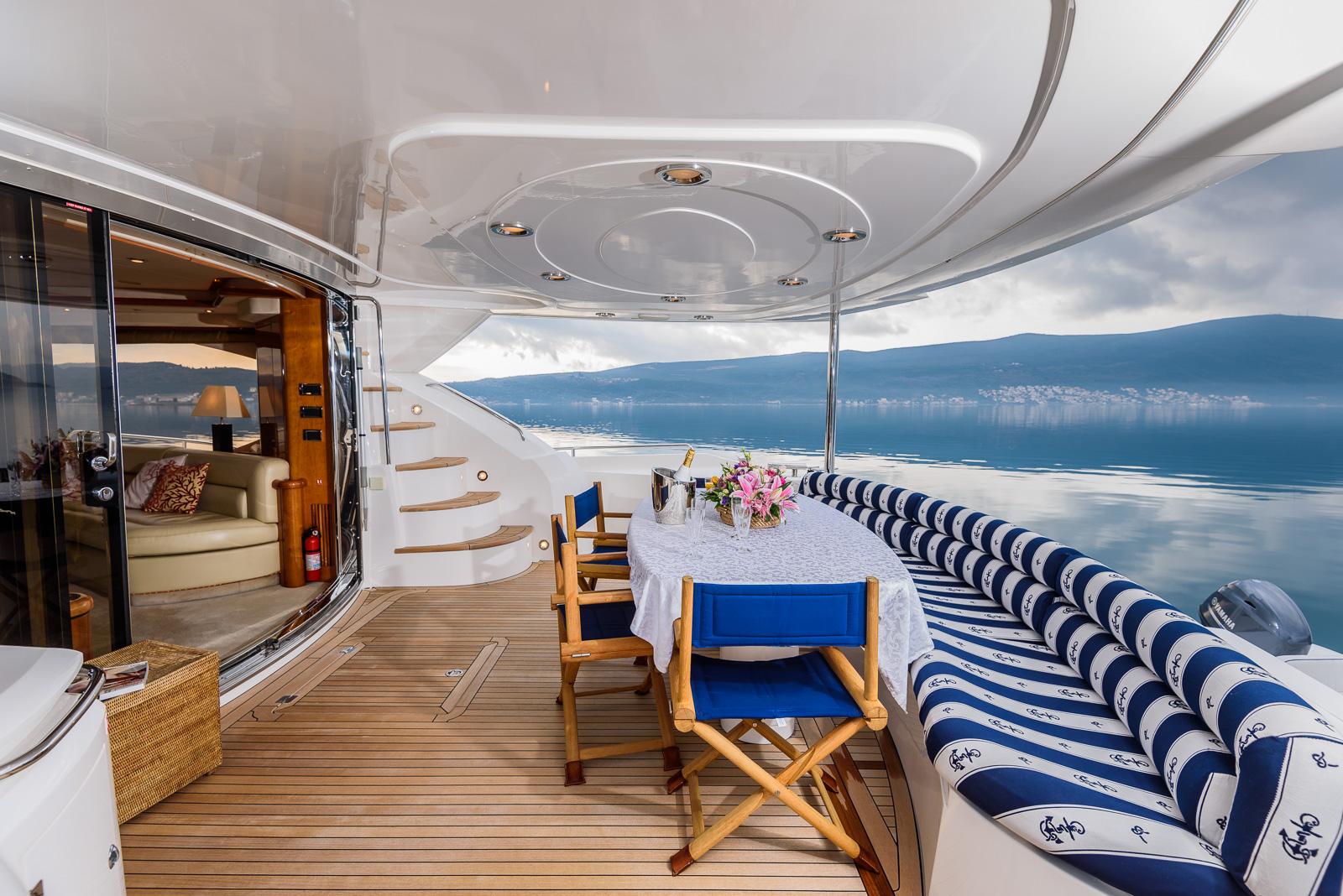 Sunseeker 82 Yacht | Экстрьер 4