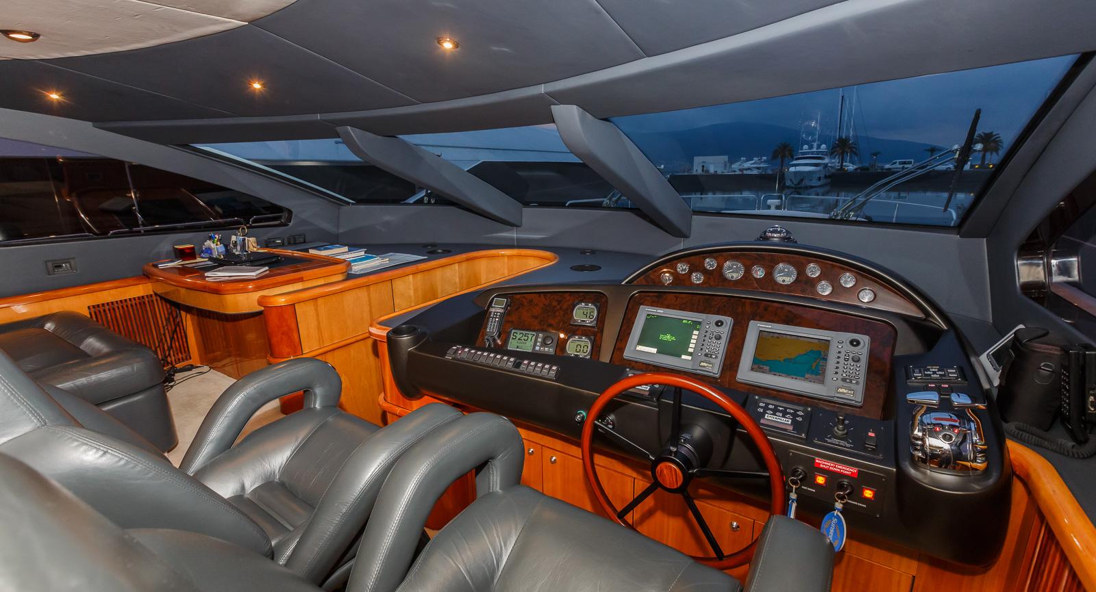 Sunseeker 82 Yacht | Экстрьер 10