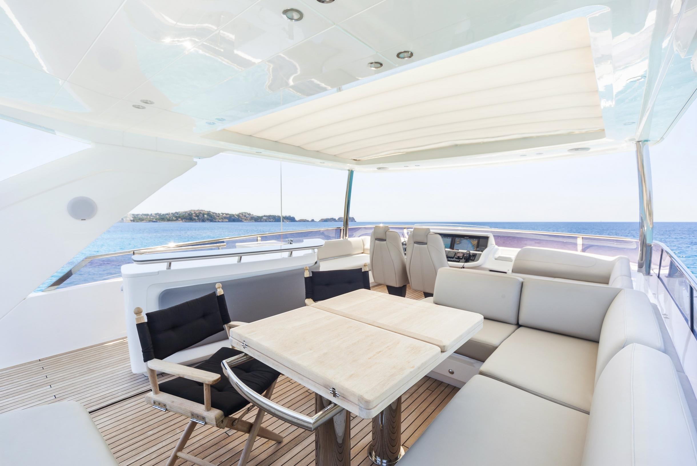 Яхта Princess 75 | Интерьер 3
