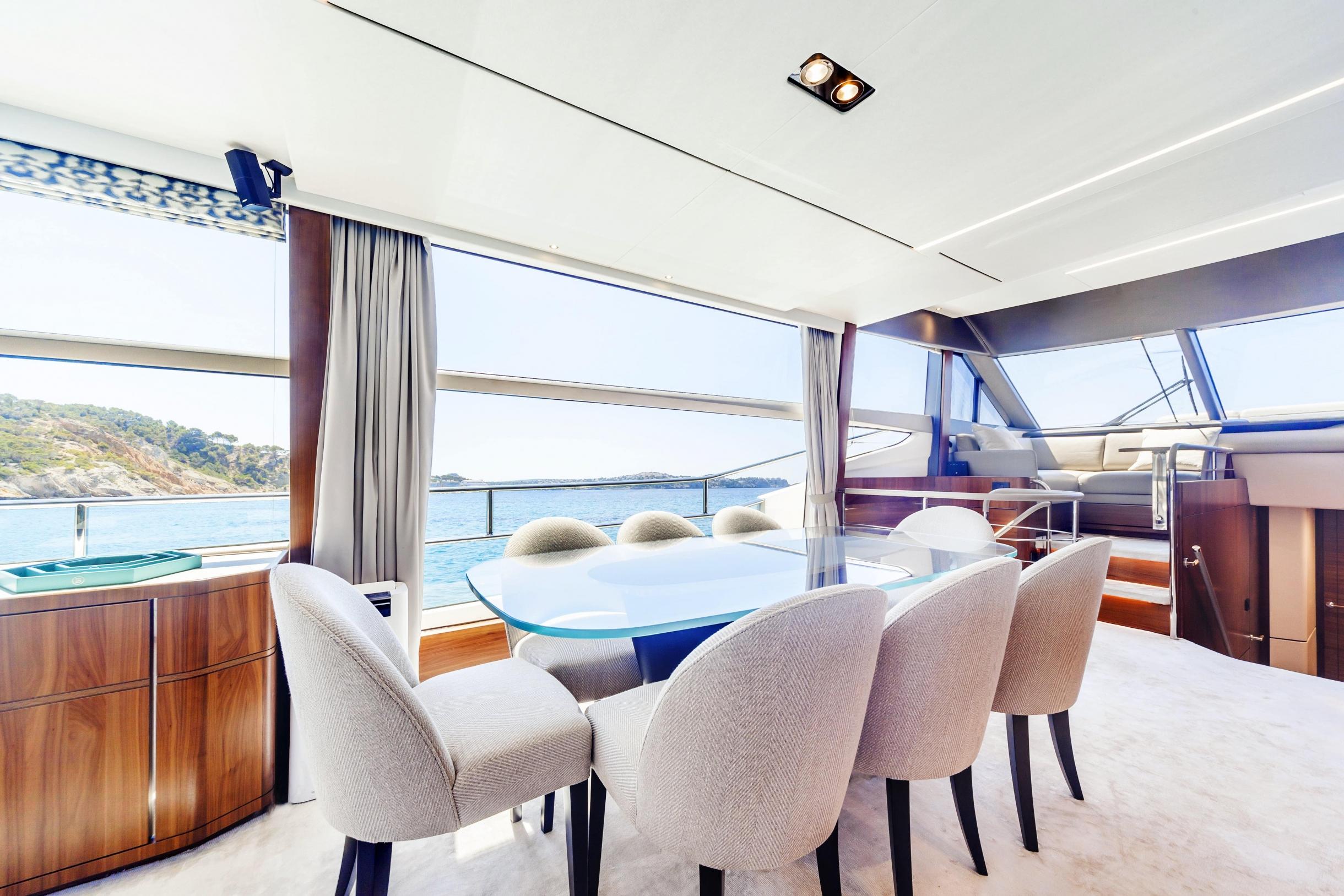 Яхта Princess 75 | Интерьер 1