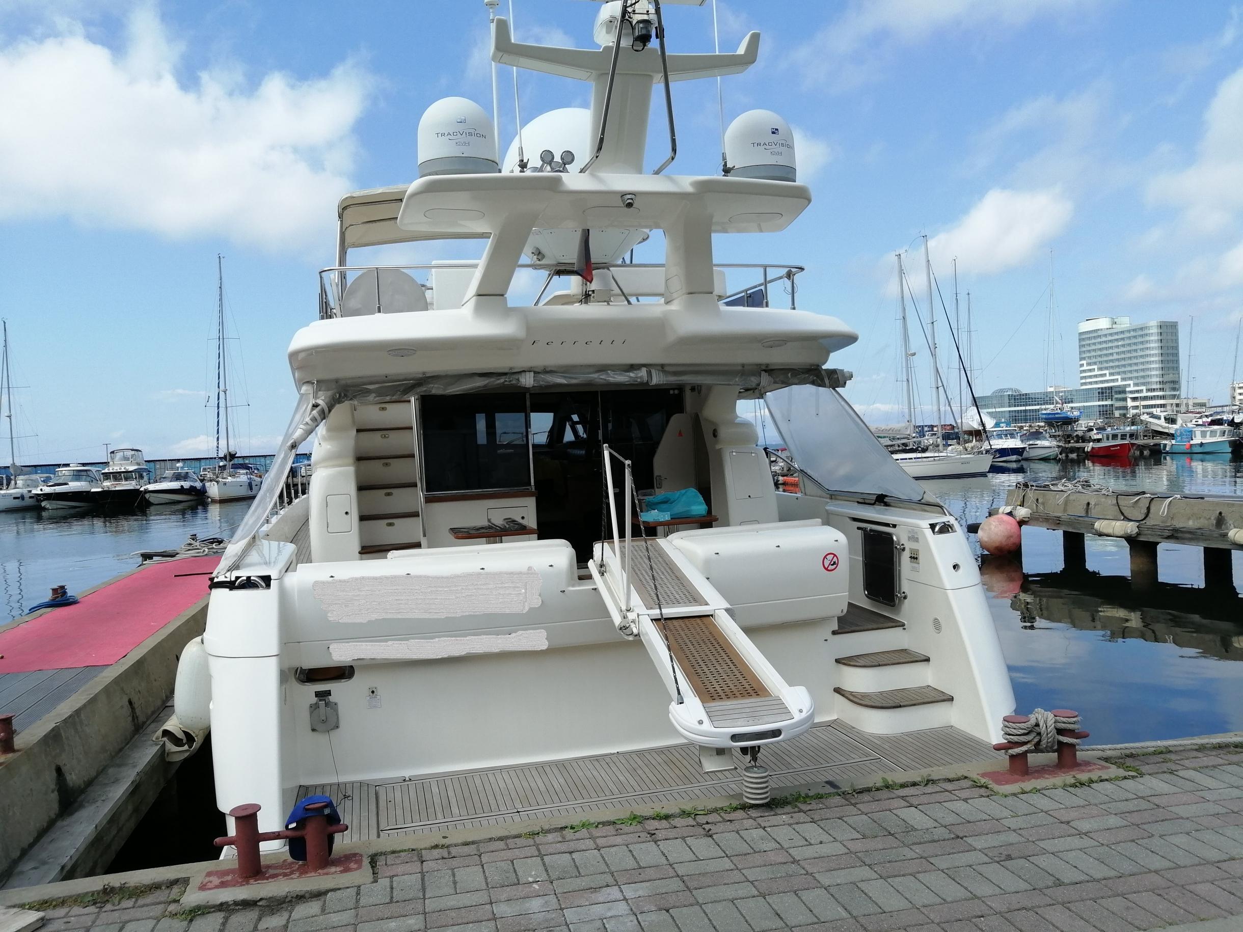 Яхта Ferretti 550 | Экстрьер 1