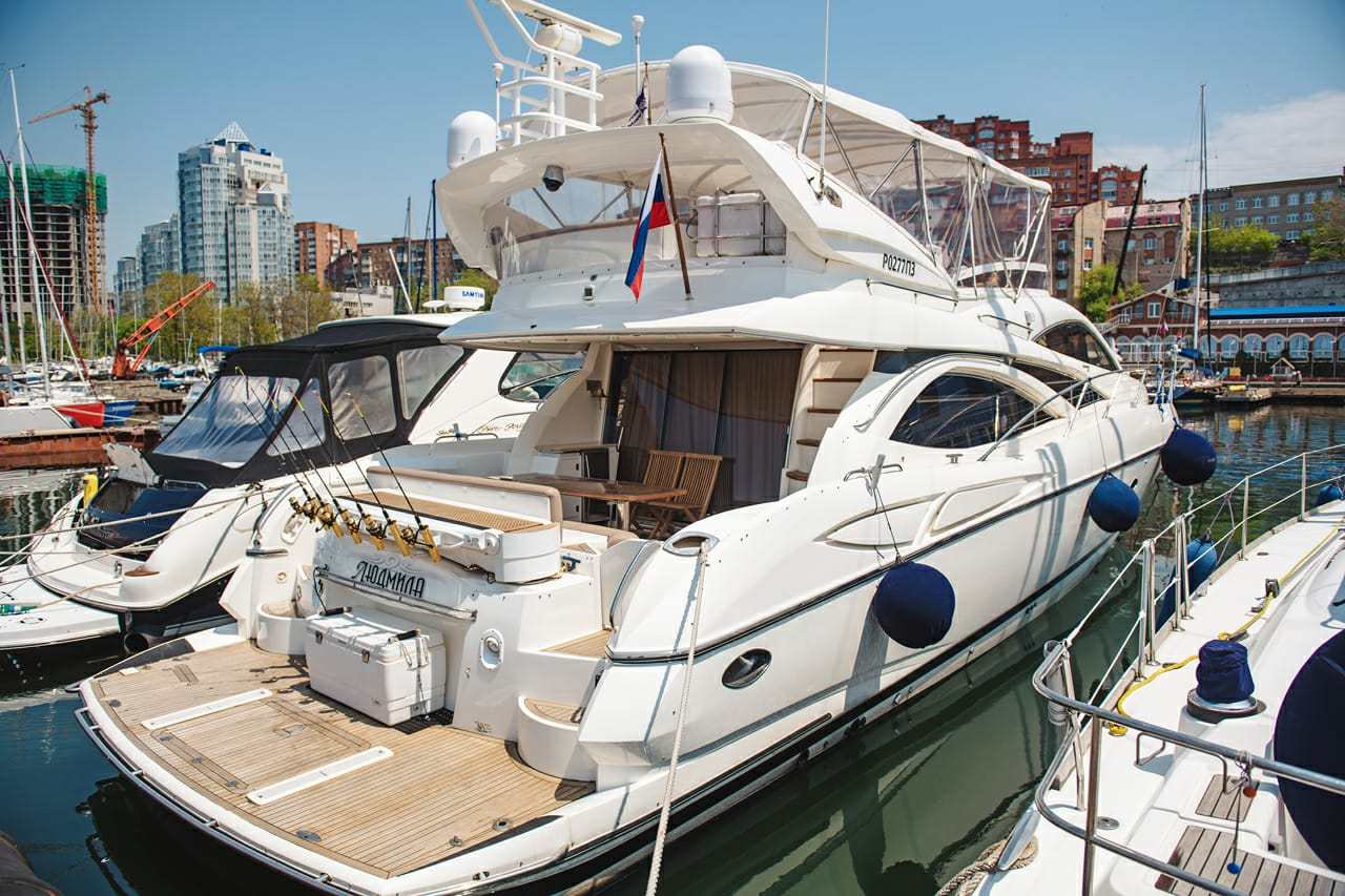 Sunseeker Manhattan 64 | Экстрьер 6