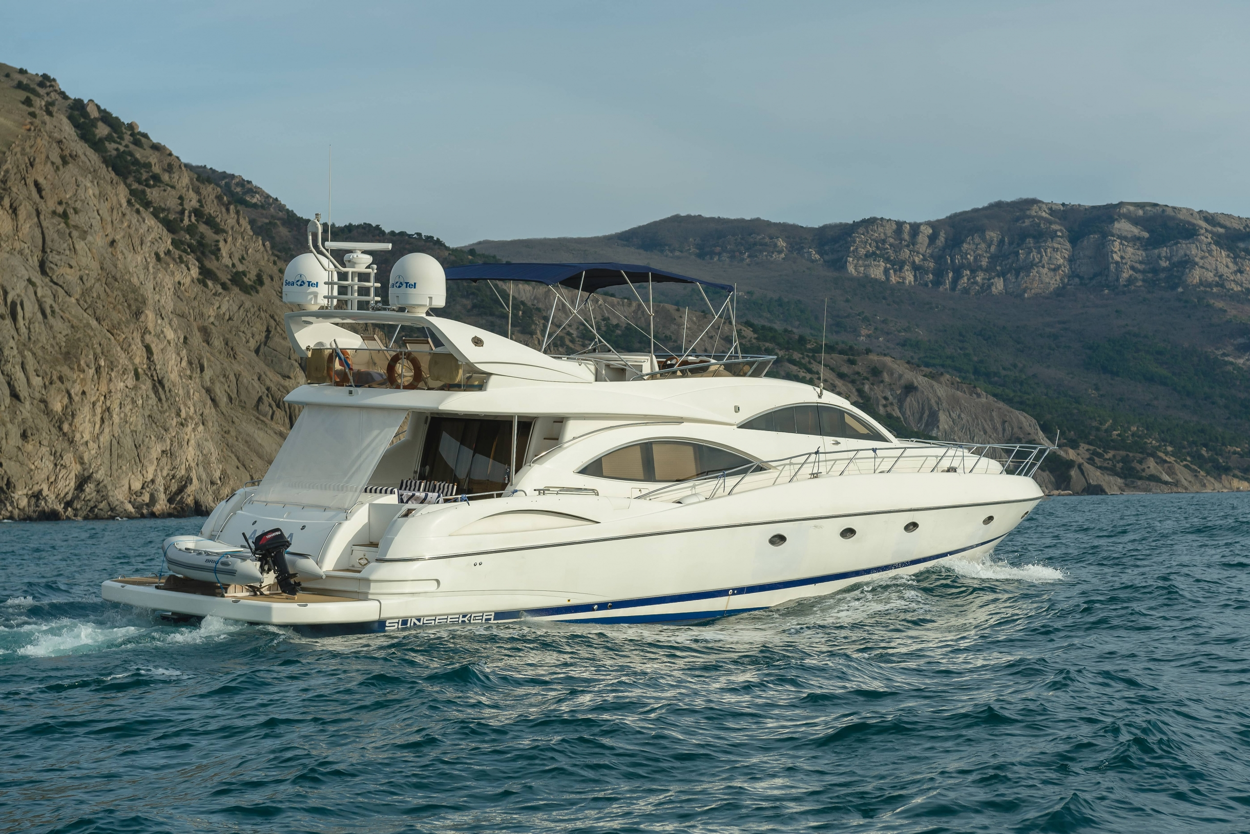 Sunseeker Manhattan 74 | Экстрьер 3