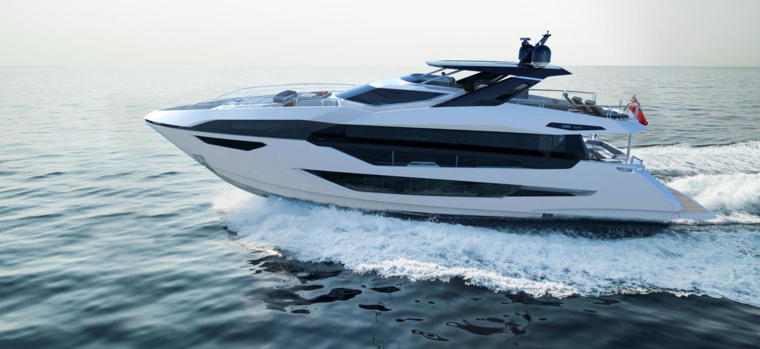 Sunseeker 100 Yacht | Экстрьер 2