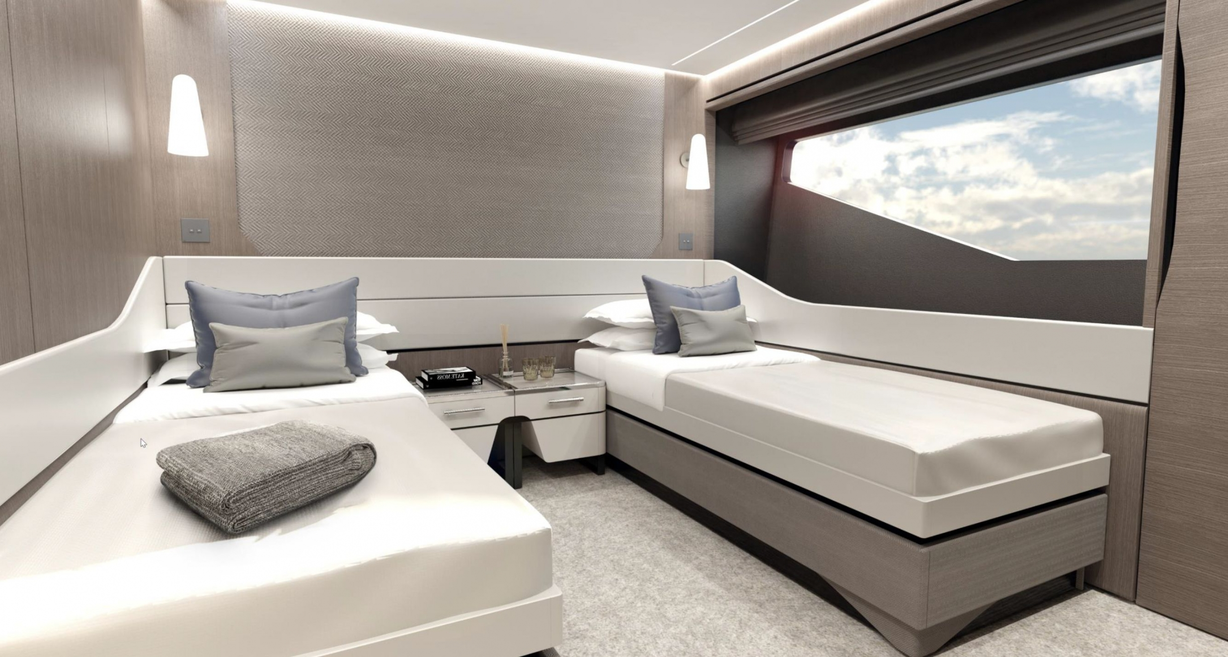 Sunseeker 100 Yacht | Интерьер 10