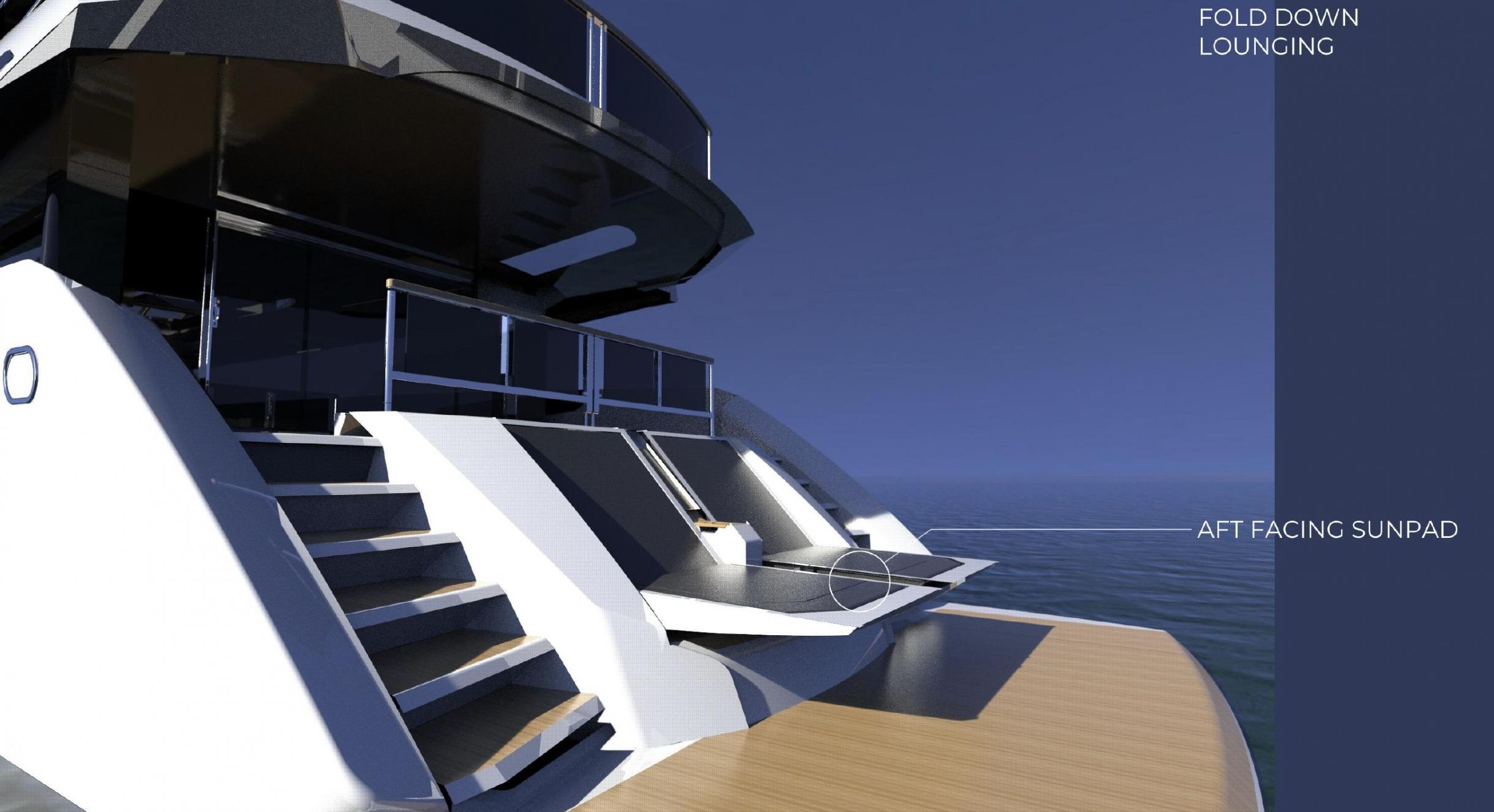 Sunseeker 100 Yacht | Экстрьер 12