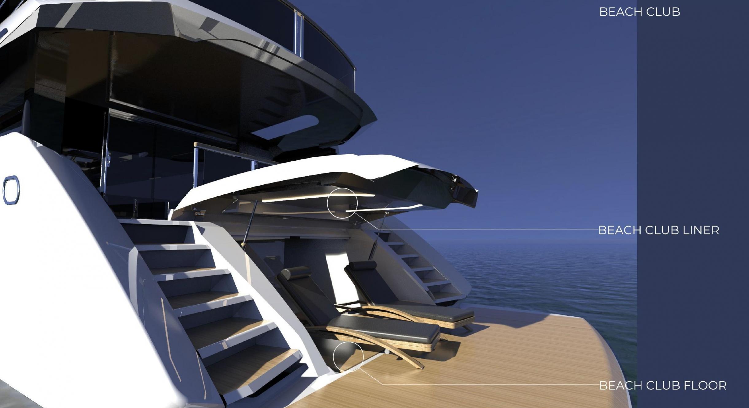 Sunseeker 100 Yacht | Экстрьер 13