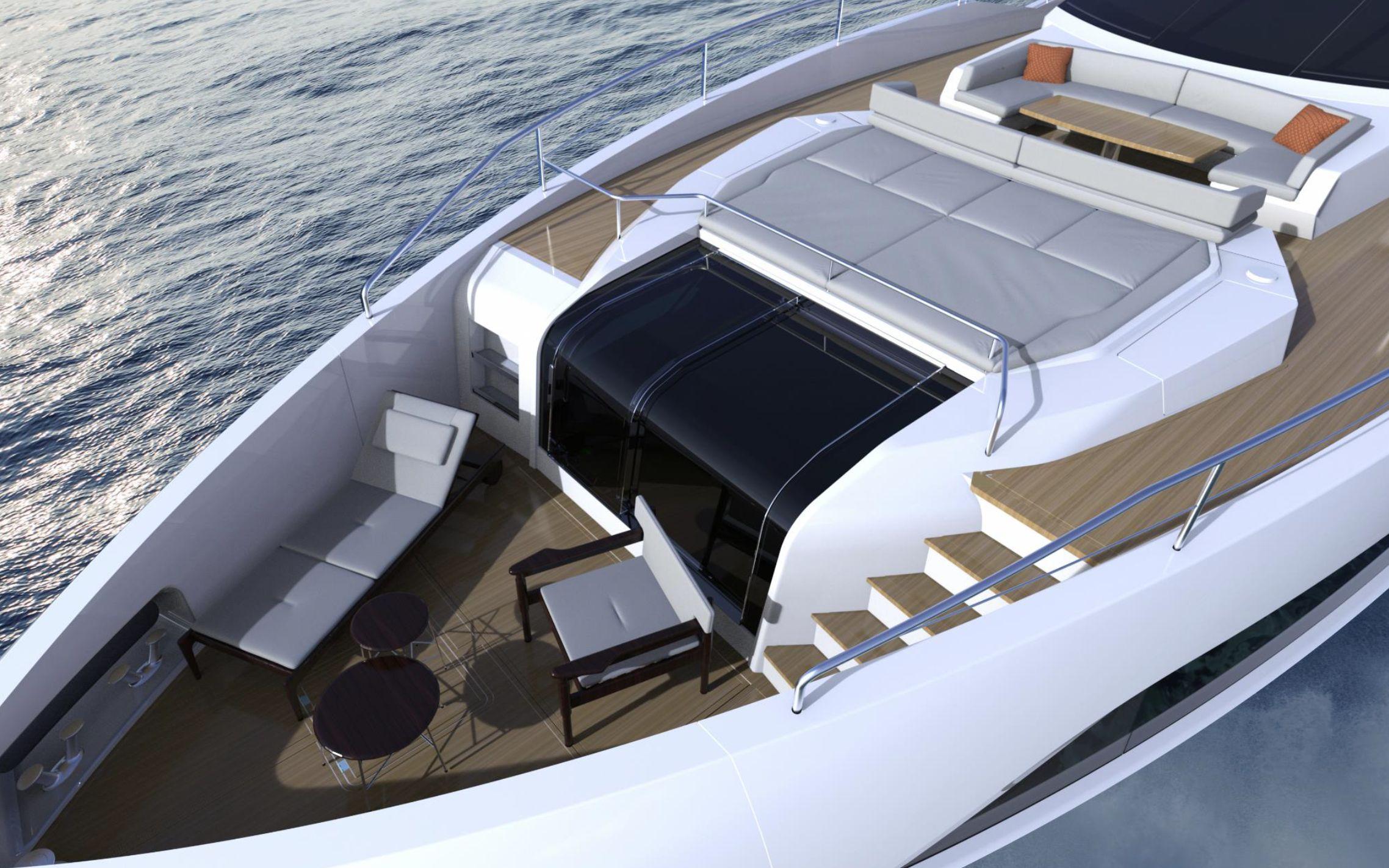 Sunseeker 100 Yacht | Экстрьер 6