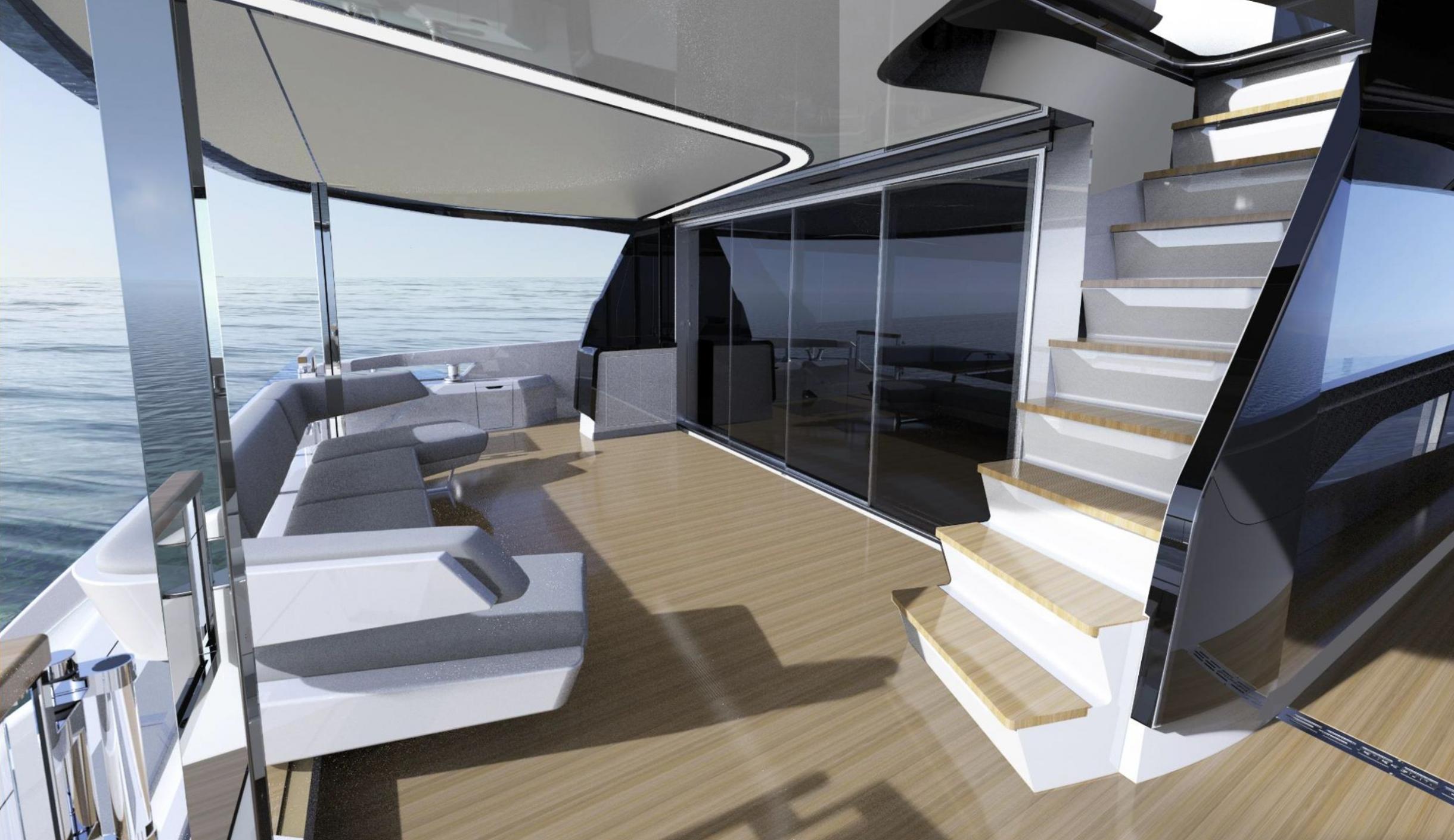 Sunseeker 100 Yacht | Экстрьер 10