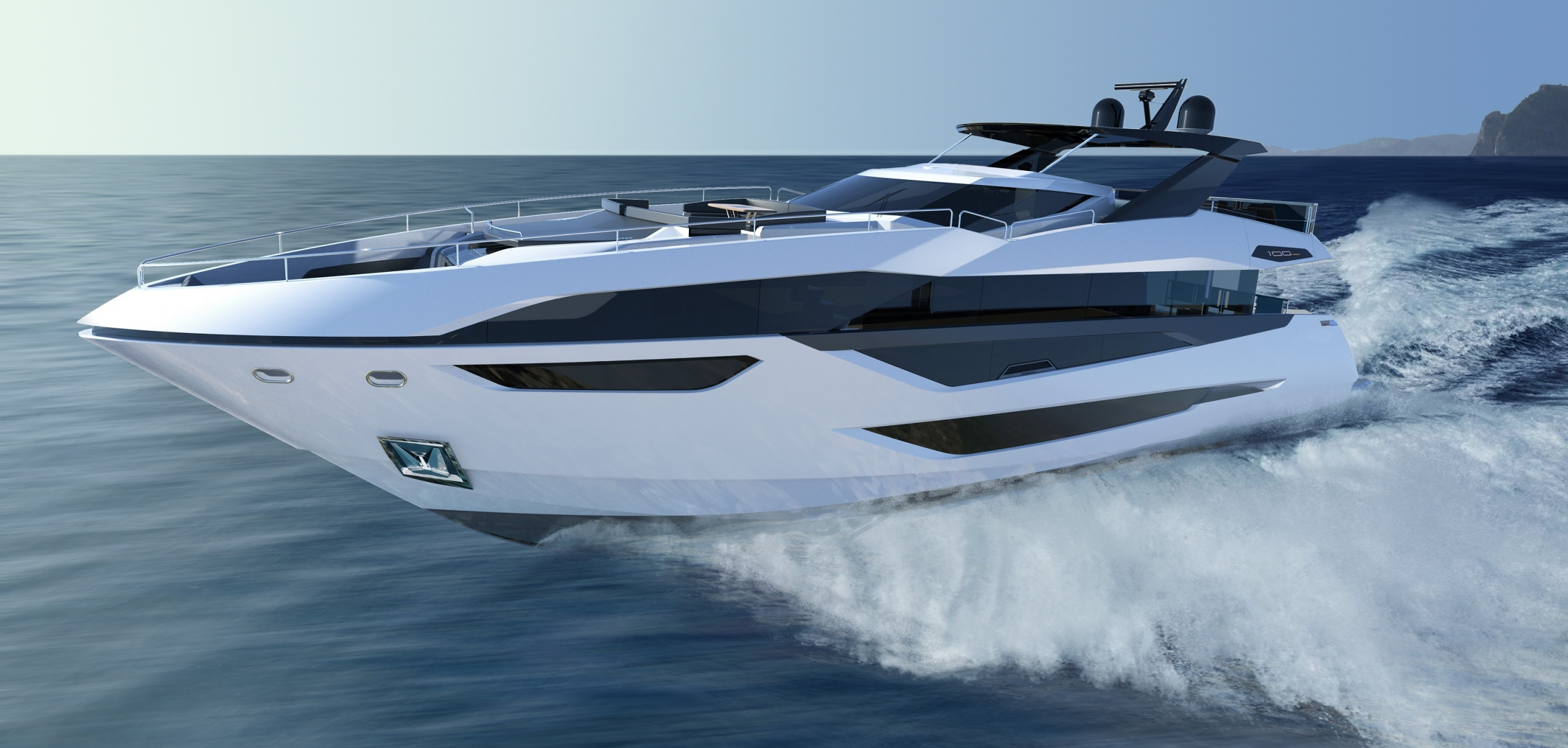 Sunseeker 100 Yacht | Экстрьер 1