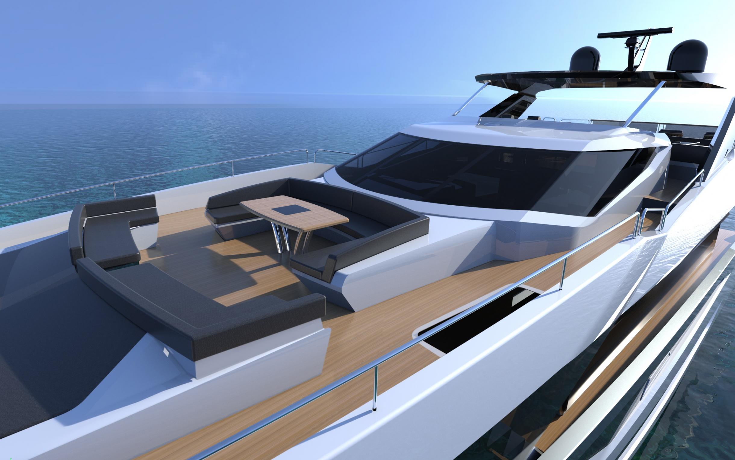Sunseeker 100 Yacht | Экстрьер 8