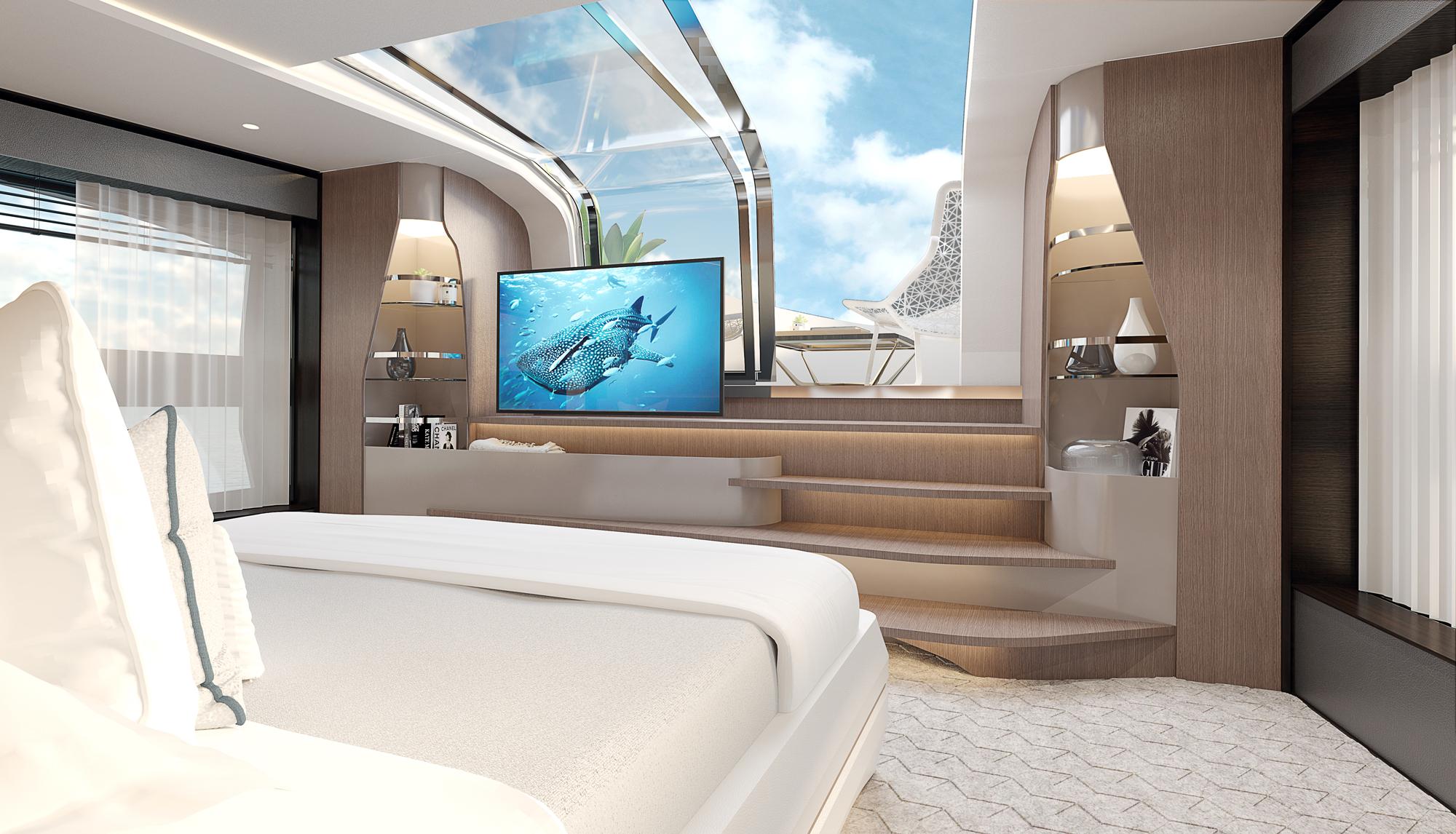 Sunseeker 100 Yacht | Интерьер 7
