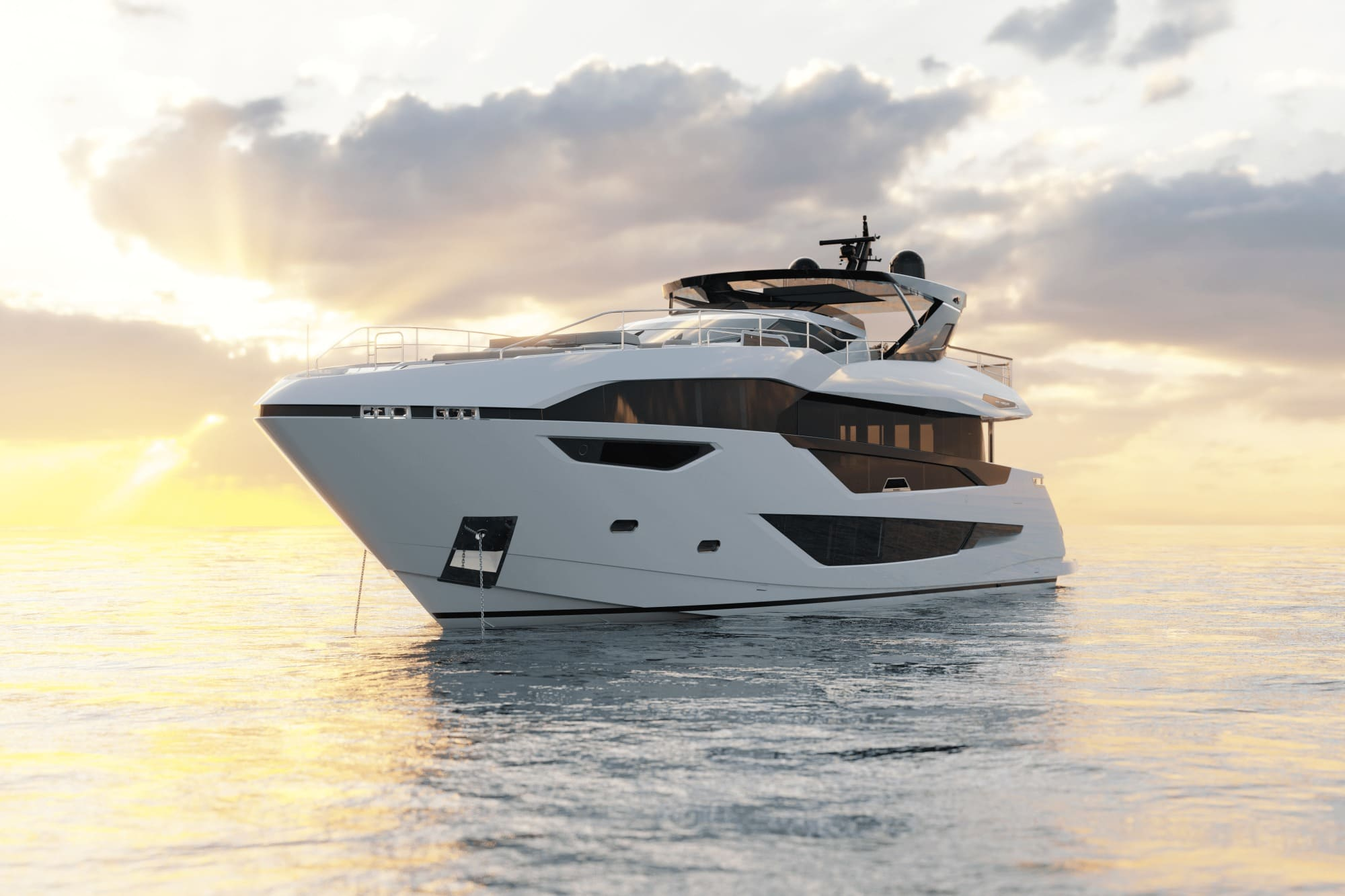 Sunseeker 100 Yacht | Экстрьер 0
