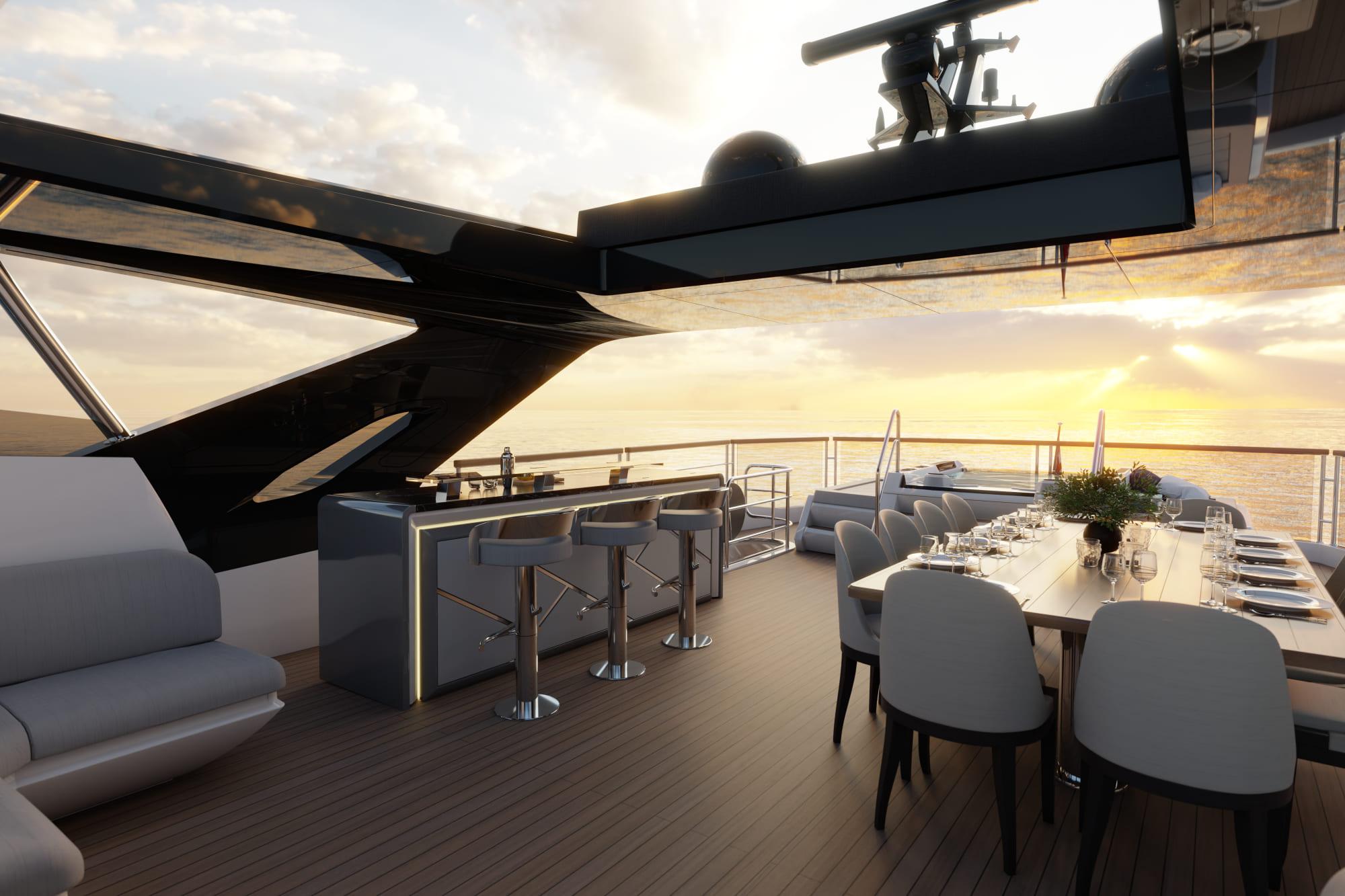 Sunseeker 100 Yacht | Экстрьер 5