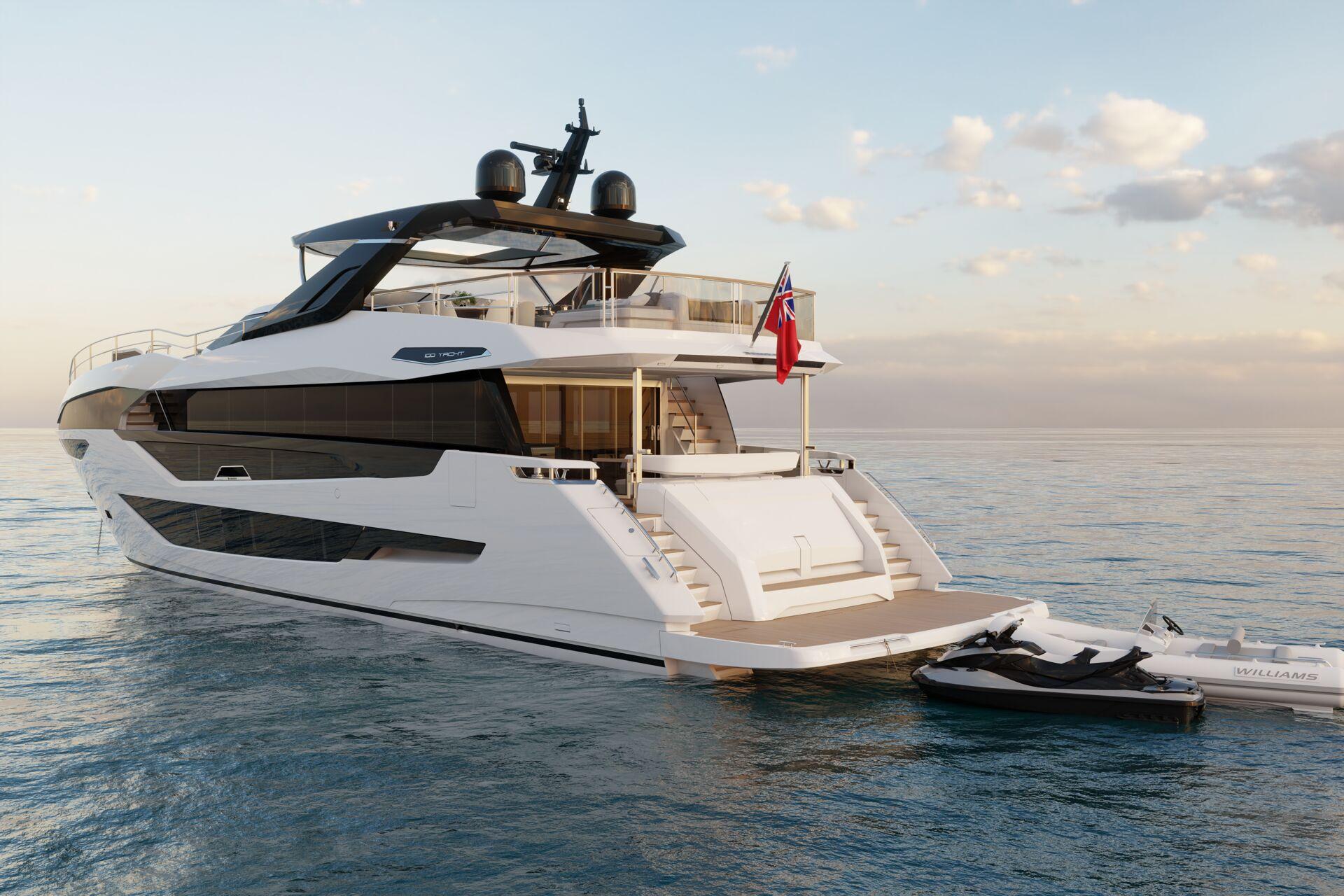 Sunseeker 100 Yacht | Экстрьер 4