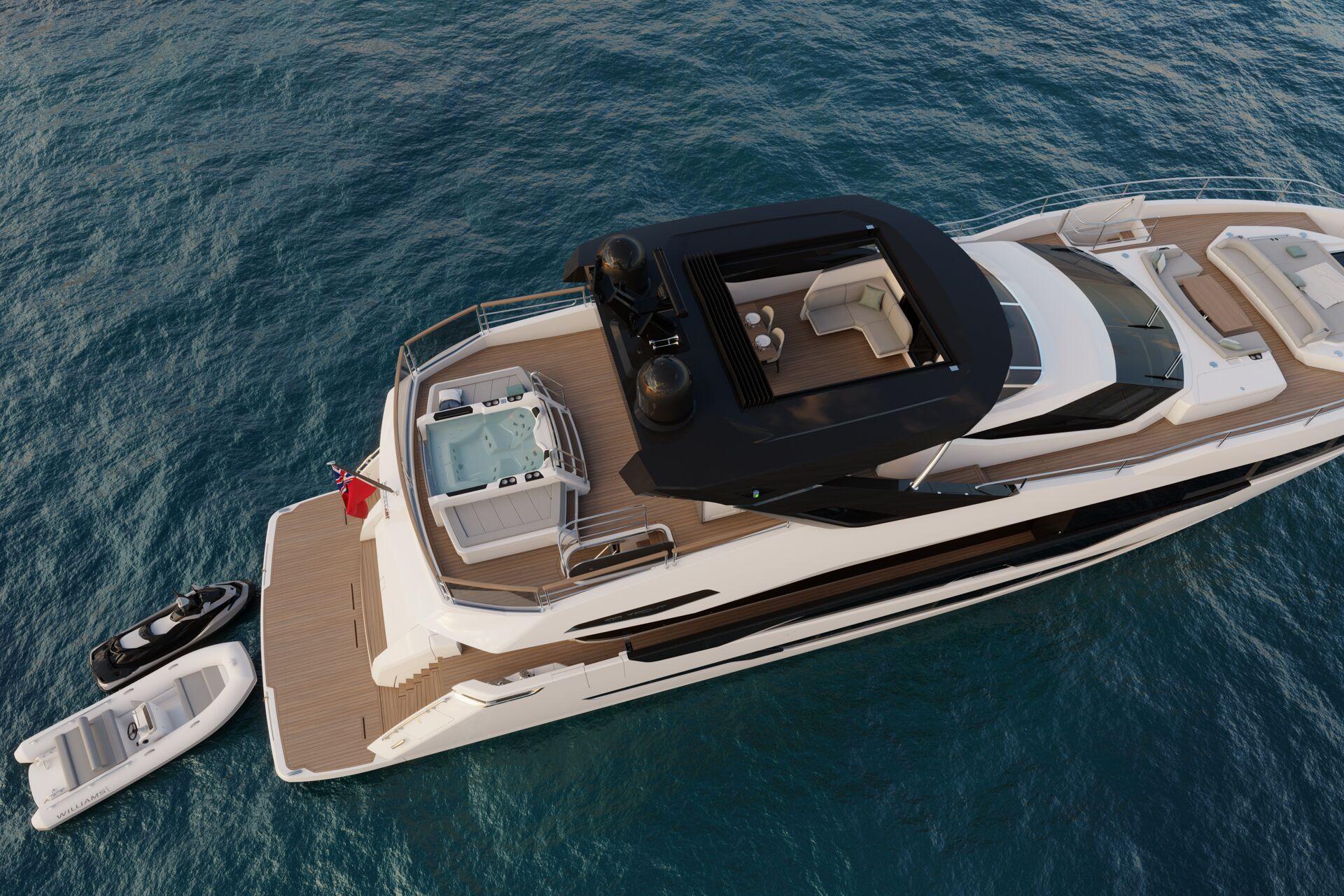 Sunseeker 100 Yacht | Экстрьер 3