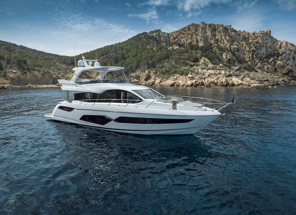 Sunseeker Manhattan 68 | Экстрьер 2