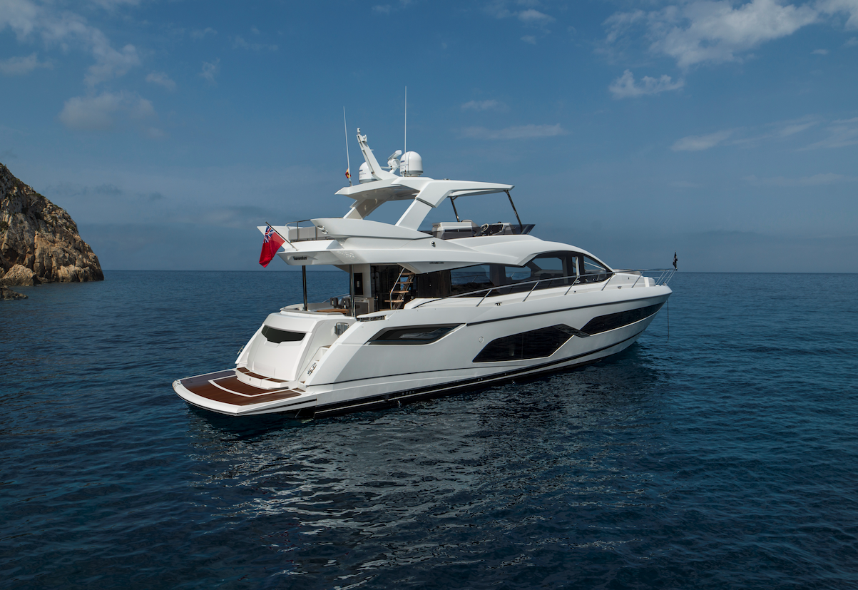 Sunseeker Manhattan 68 | Экстрьер 1