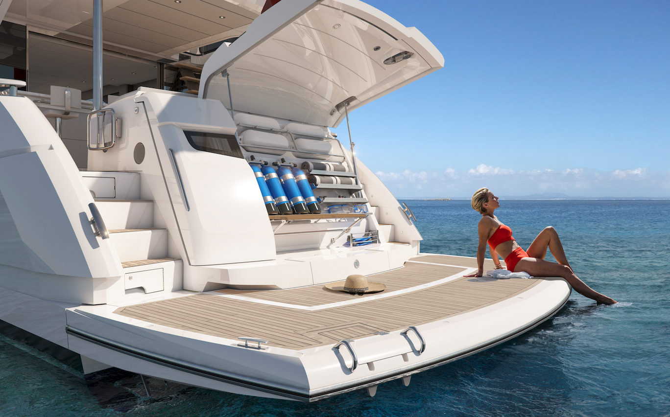 Sunseeker Manhattan 68 | Экстрьер 4
