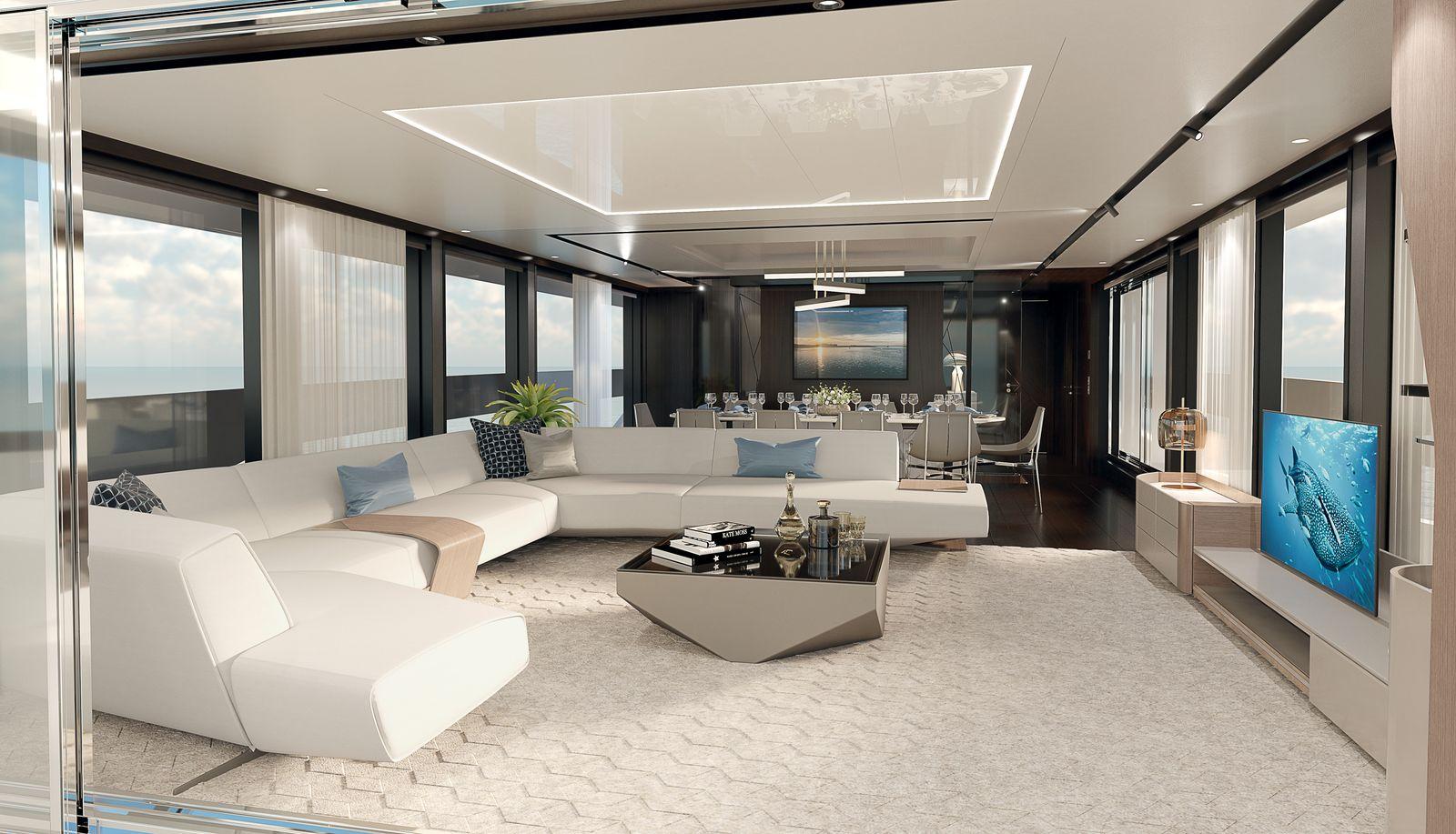 Sunseeker 100 Yacht | Интерьер 0