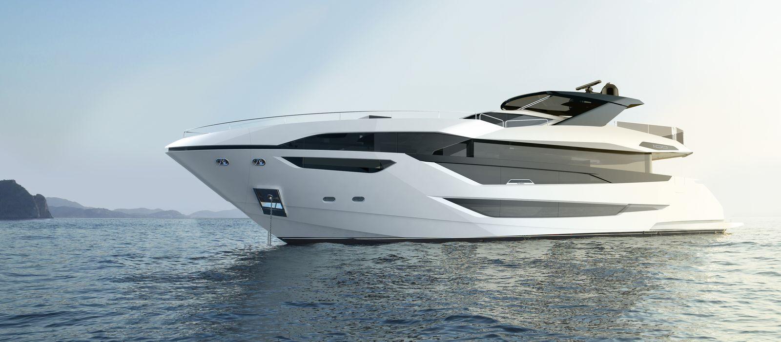 Sunseeker 100 Yacht   Экстрьер 0
