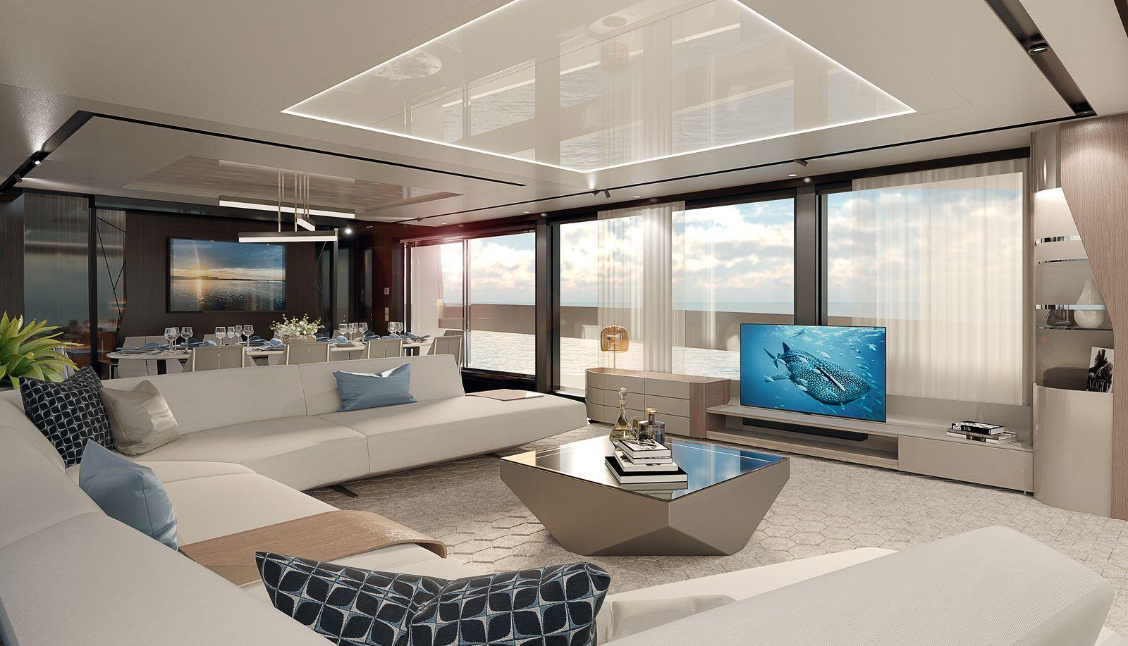 Sunseeker 100 Yacht | Интерьер 1