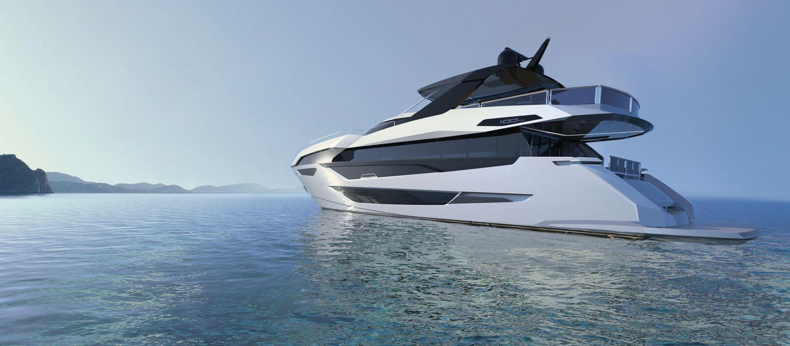 Sunseeker 100 Yacht   Экстрьер 1