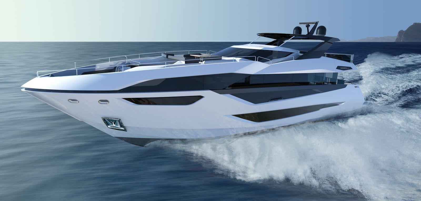 Sunseeker 100 Yacht   Экстрьер 2