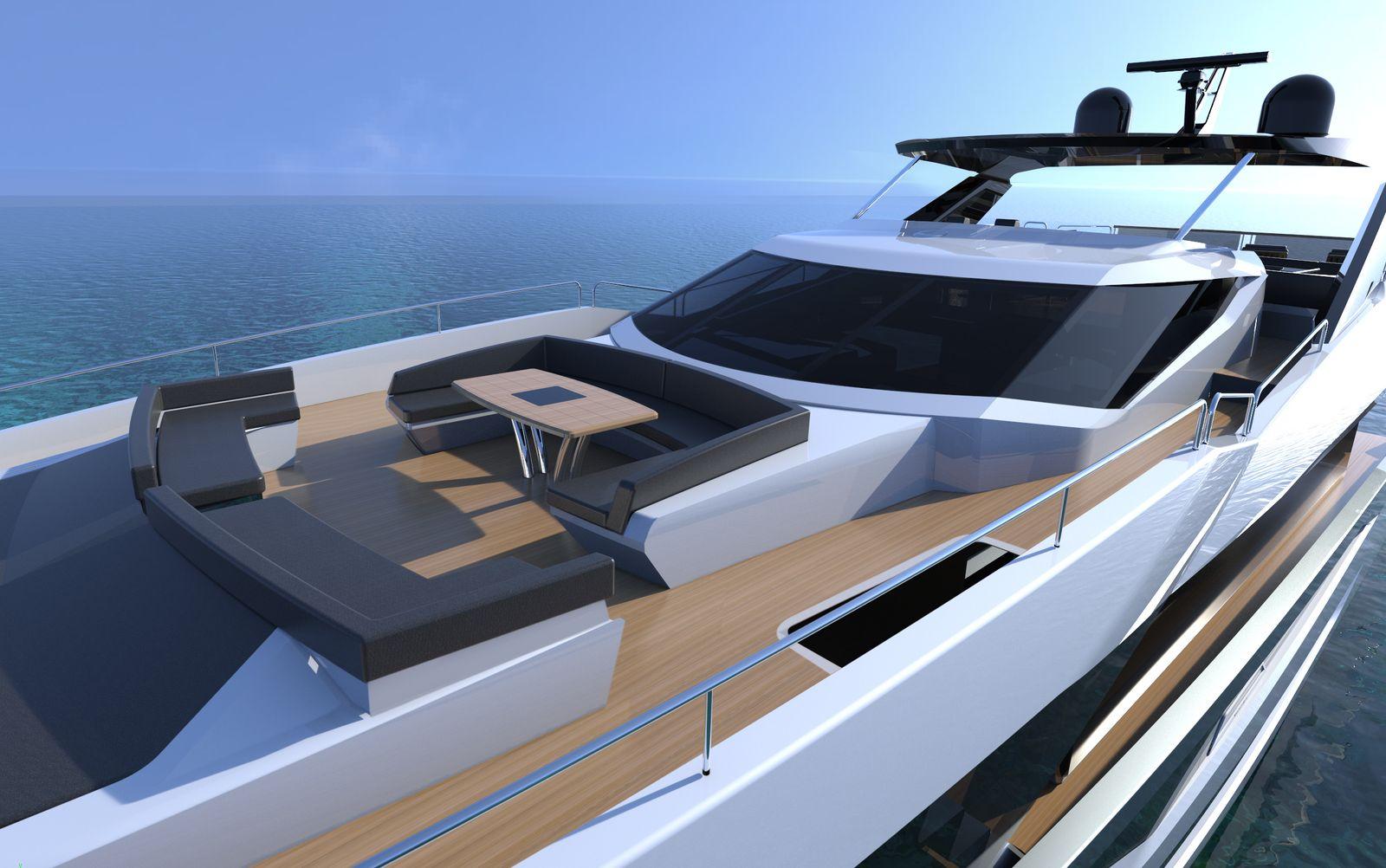 Sunseeker 100 Yacht   Экстрьер 3