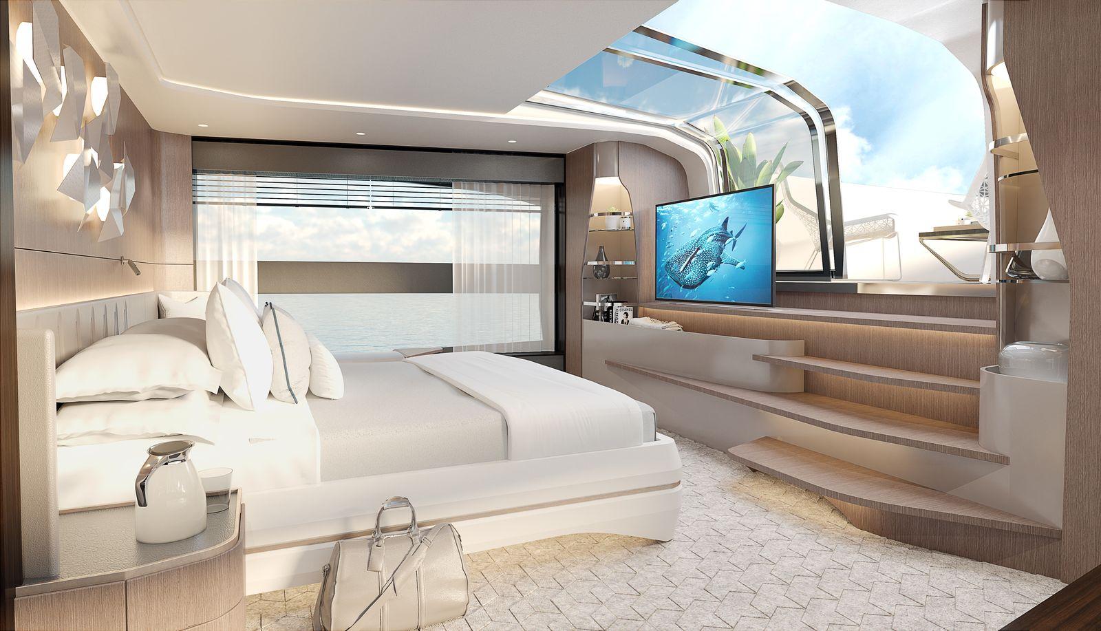 Sunseeker 100 Yacht | Интерьер 4