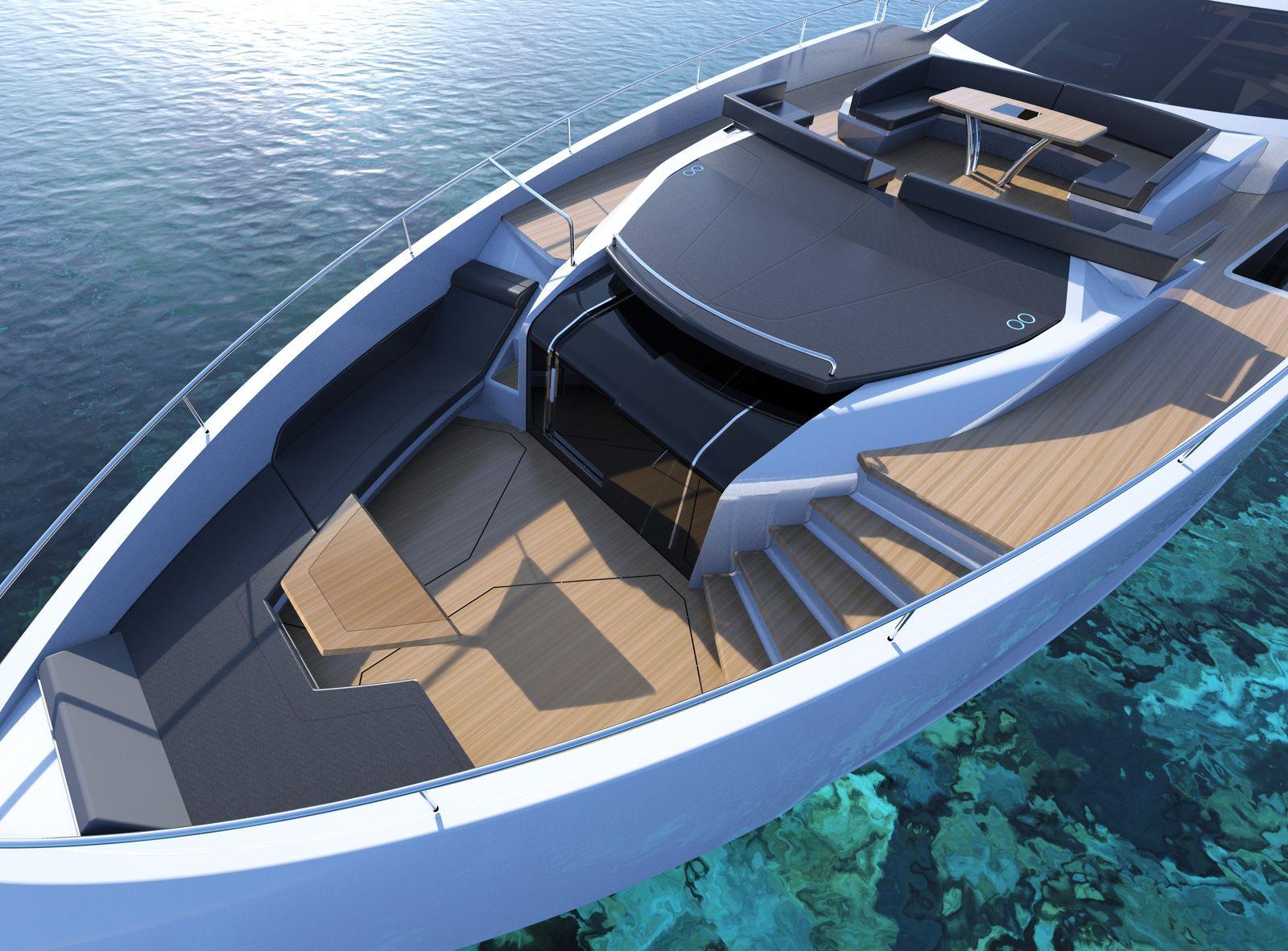 Sunseeker 100 Yacht   Экстрьер 4