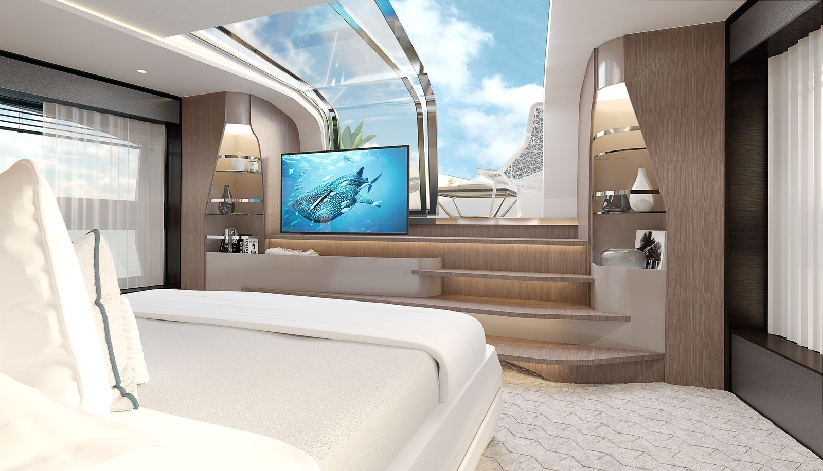 Sunseeker 100 Yacht | Интерьер 5