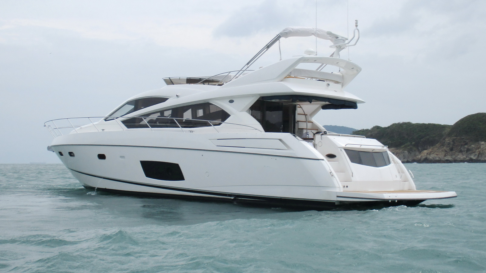 Sunseeker Manhattan 63 | Экстрьер 1