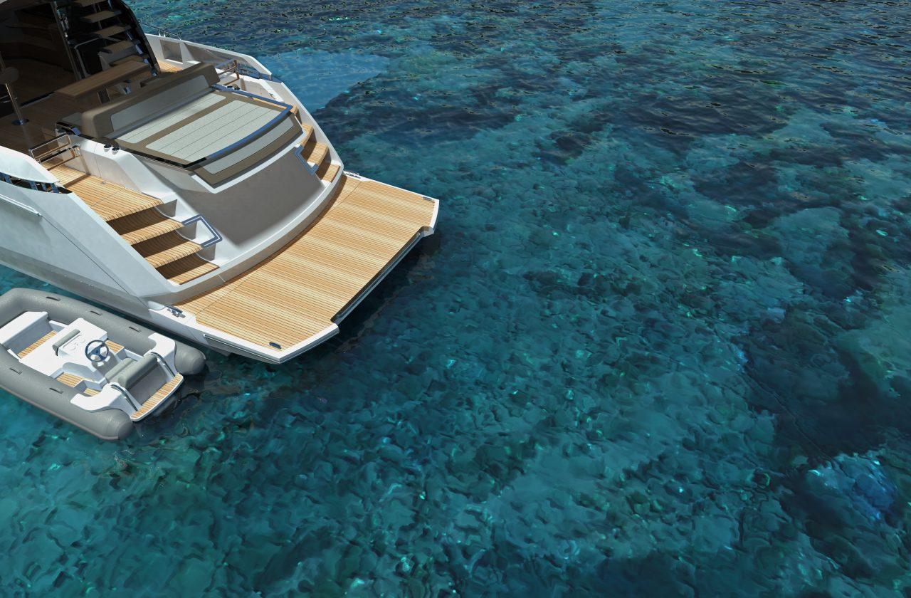 Sunseeker 65 Sport Yacht | Экстрьер 9