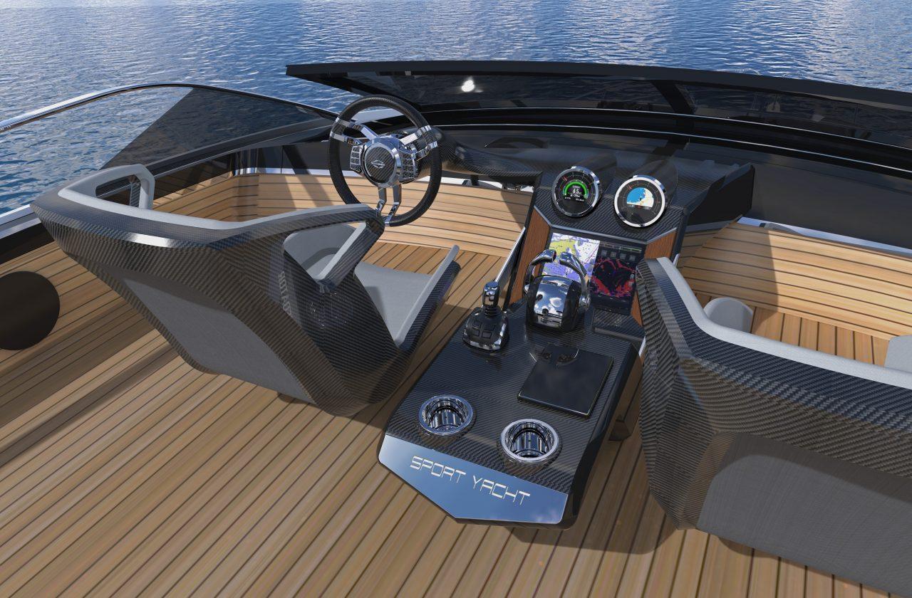 Sunseeker 65 Sport Yacht | Экстрьер 8