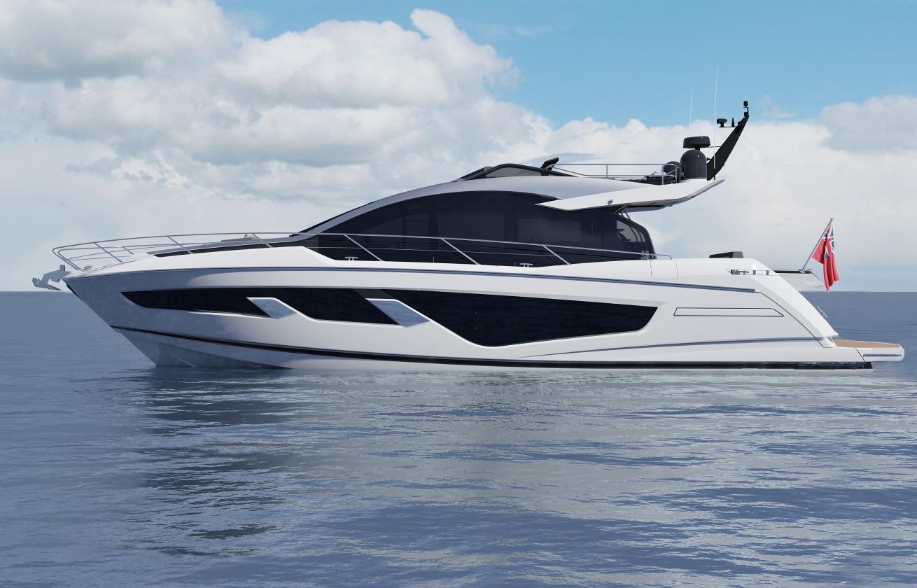 Sunseeker 65 Sport Yacht | Экстрьер 0