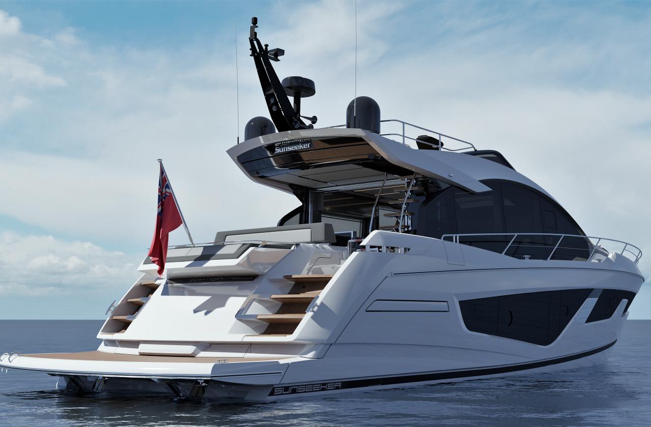 Sunseeker 65 Sport Yacht | Экстрьер 2